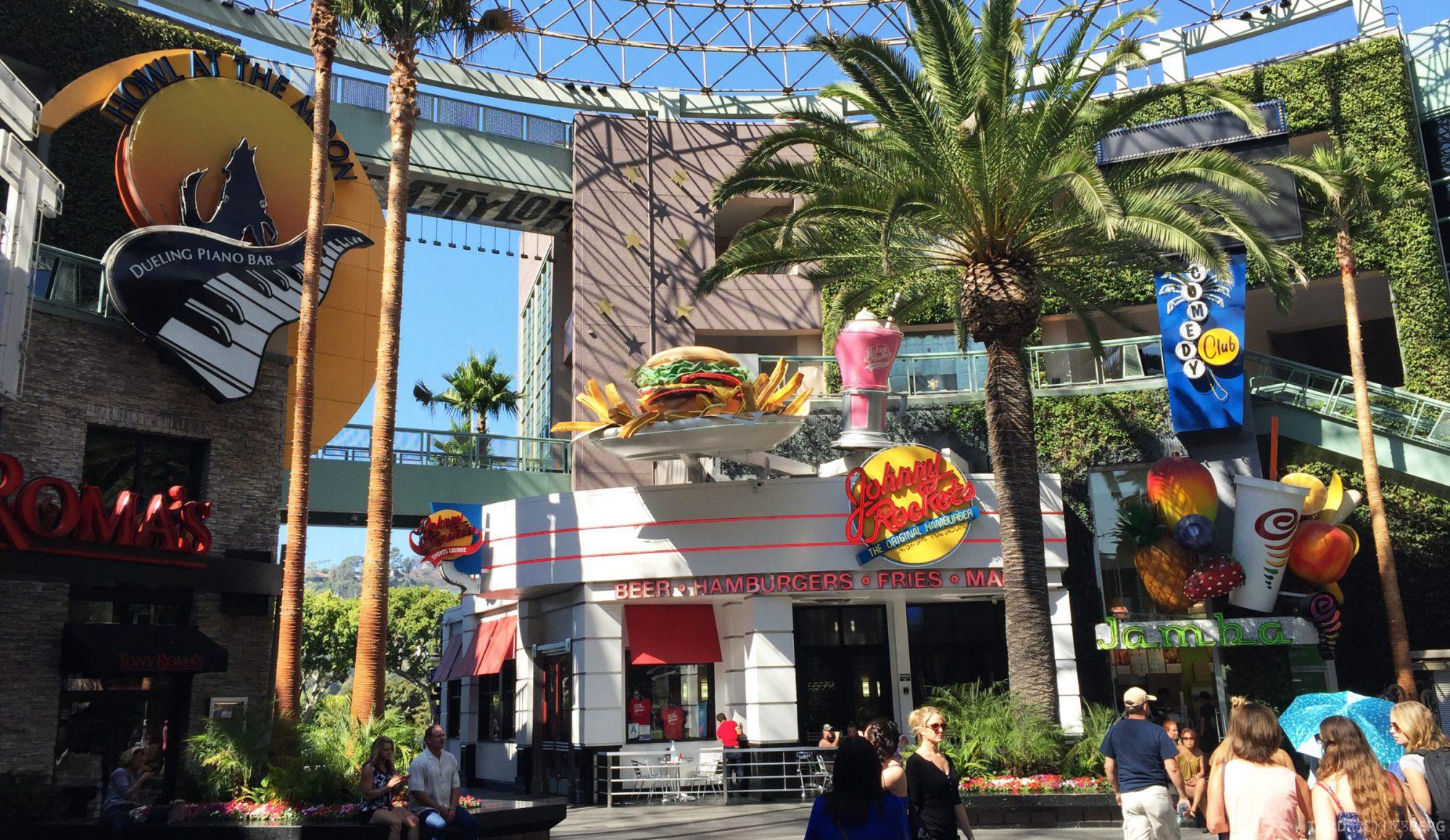 Universal Studios Hollywood før inngang