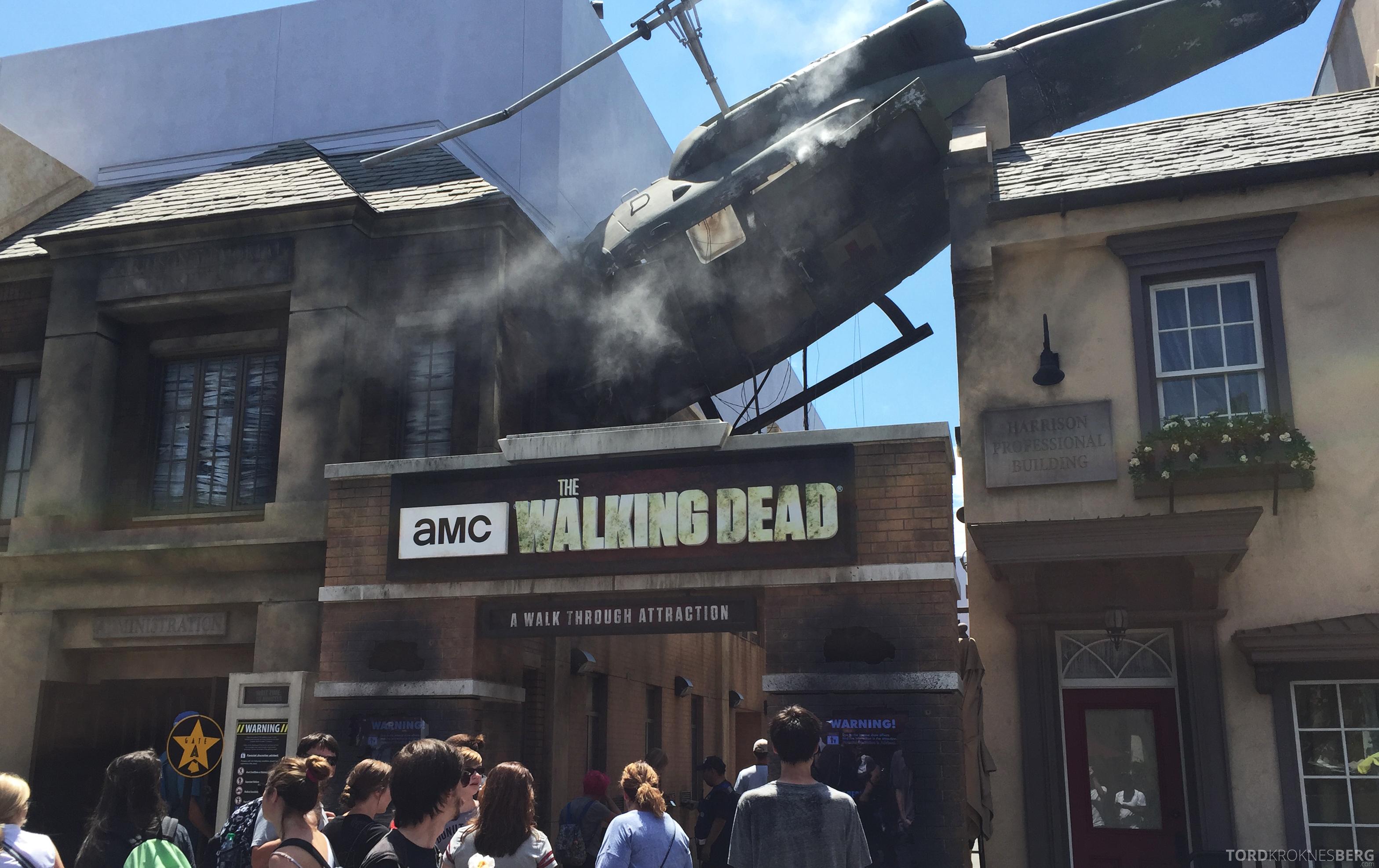 Universal Studios Hollywood walking dead