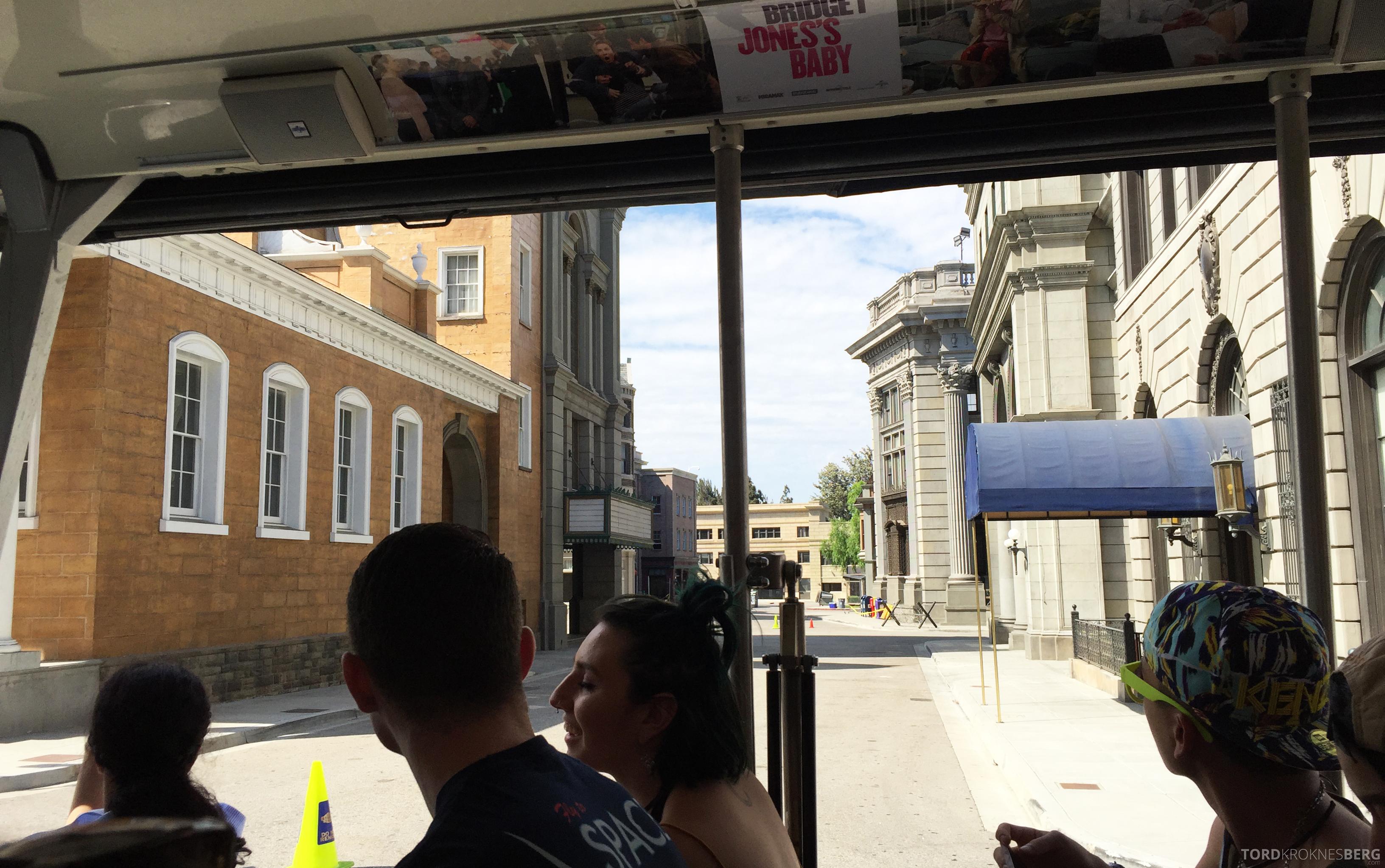 Universal Studios Hollywood Studio Tour buss