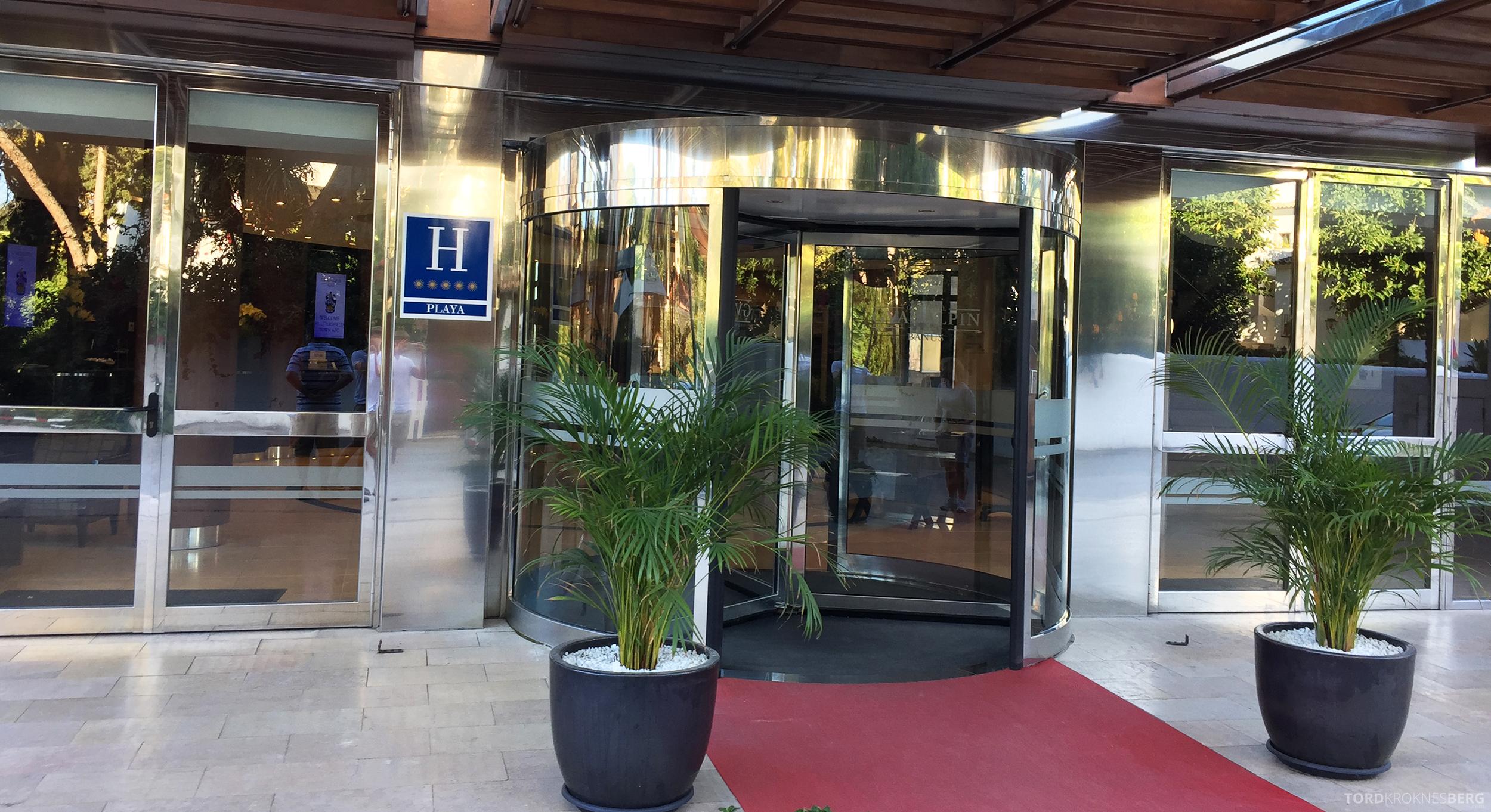 Gran Hotel Guadalpin Banus Marbella inngangsparti