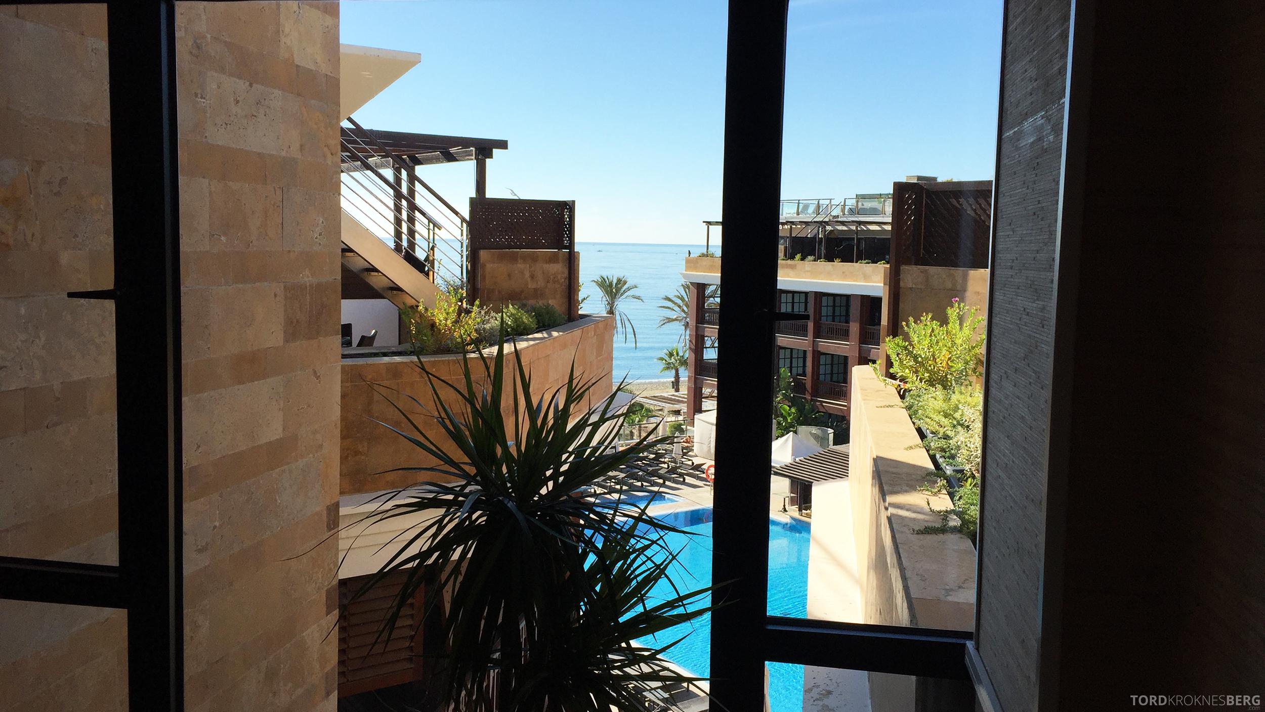 Gran Hotel Guadalpin Banus Marbella utsikt mot basseng