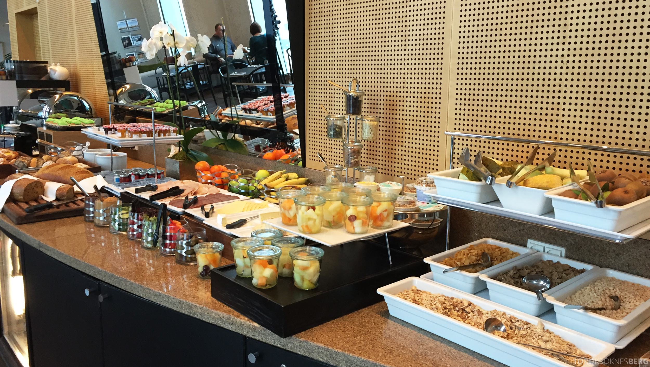 Hilton Copenhagen Executive Lounge frokost