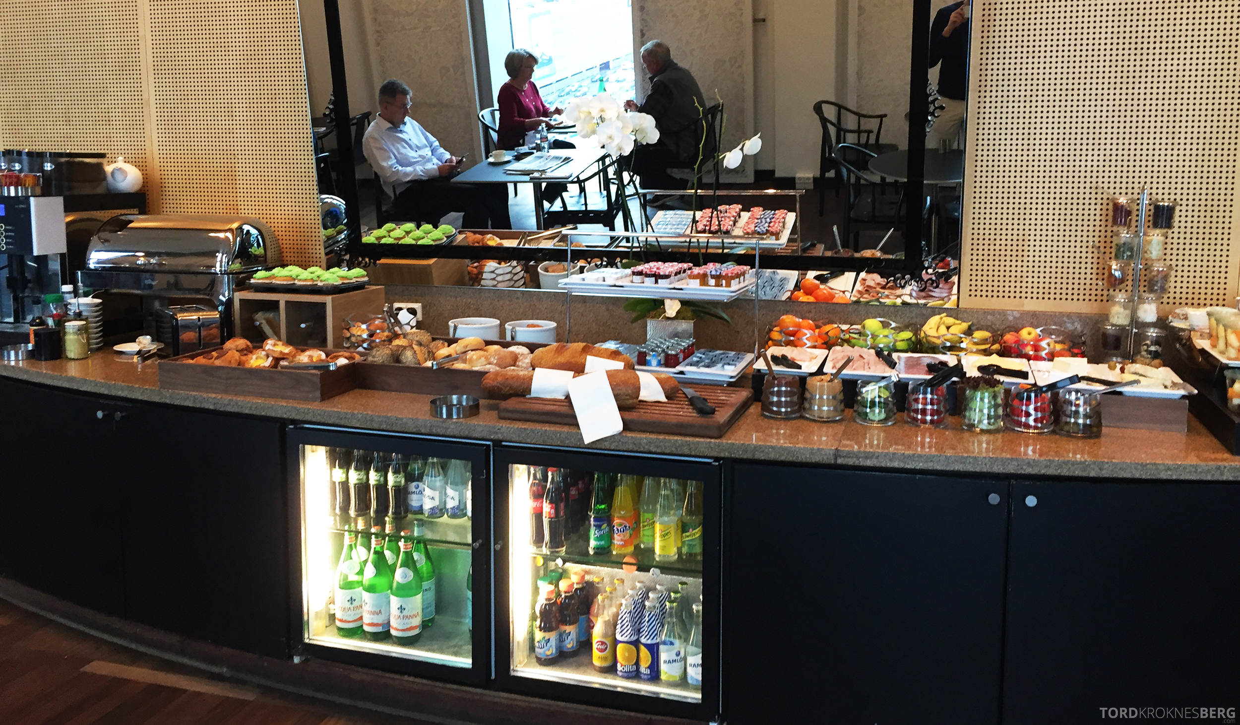 Hilton Copenhagen Executive Lounge buffet