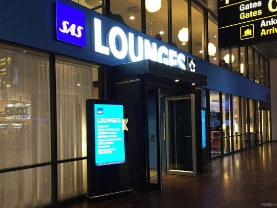 SAS Gold Lounge Copenhagen