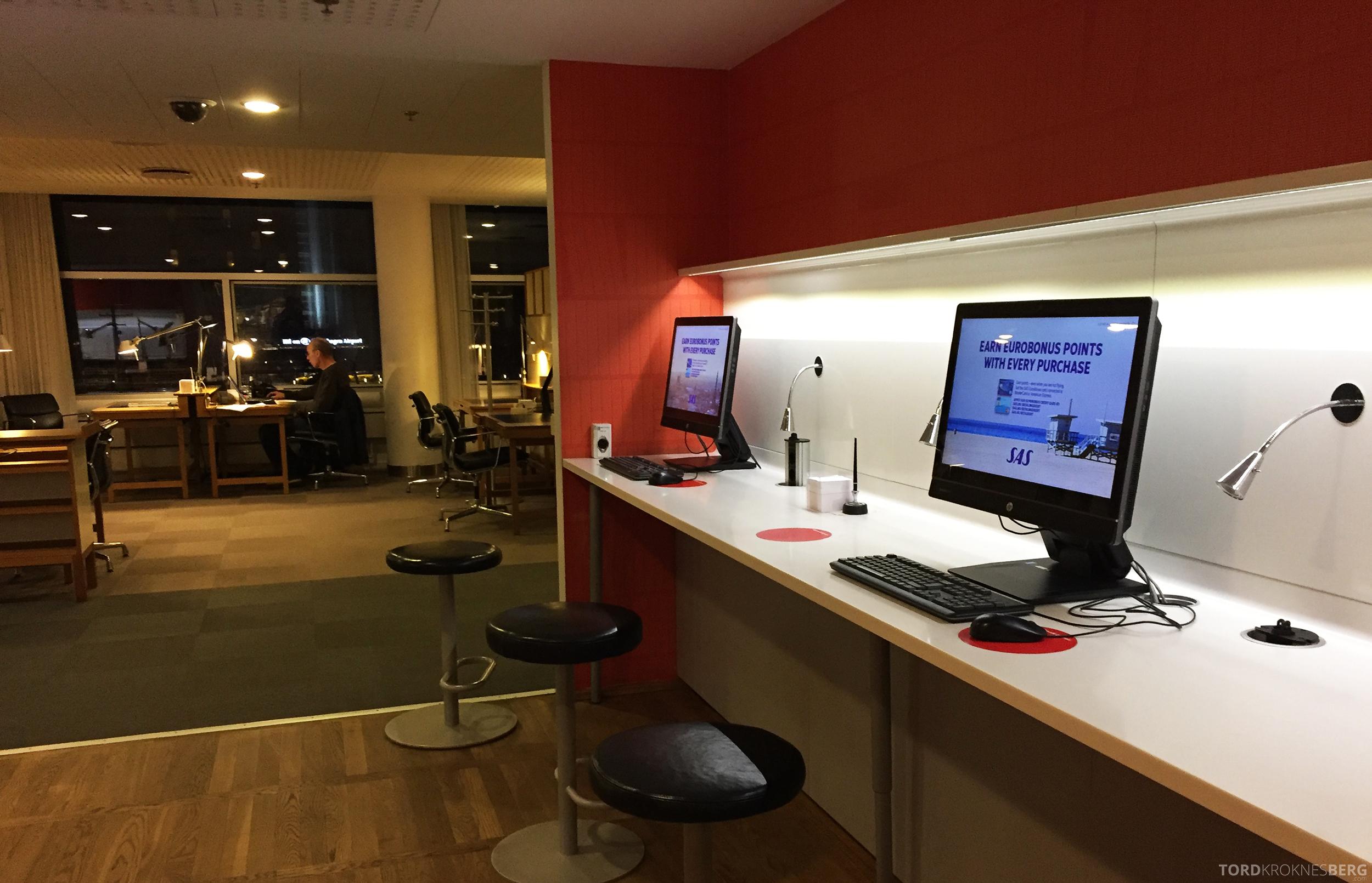 SAS Gold Lounge København PC