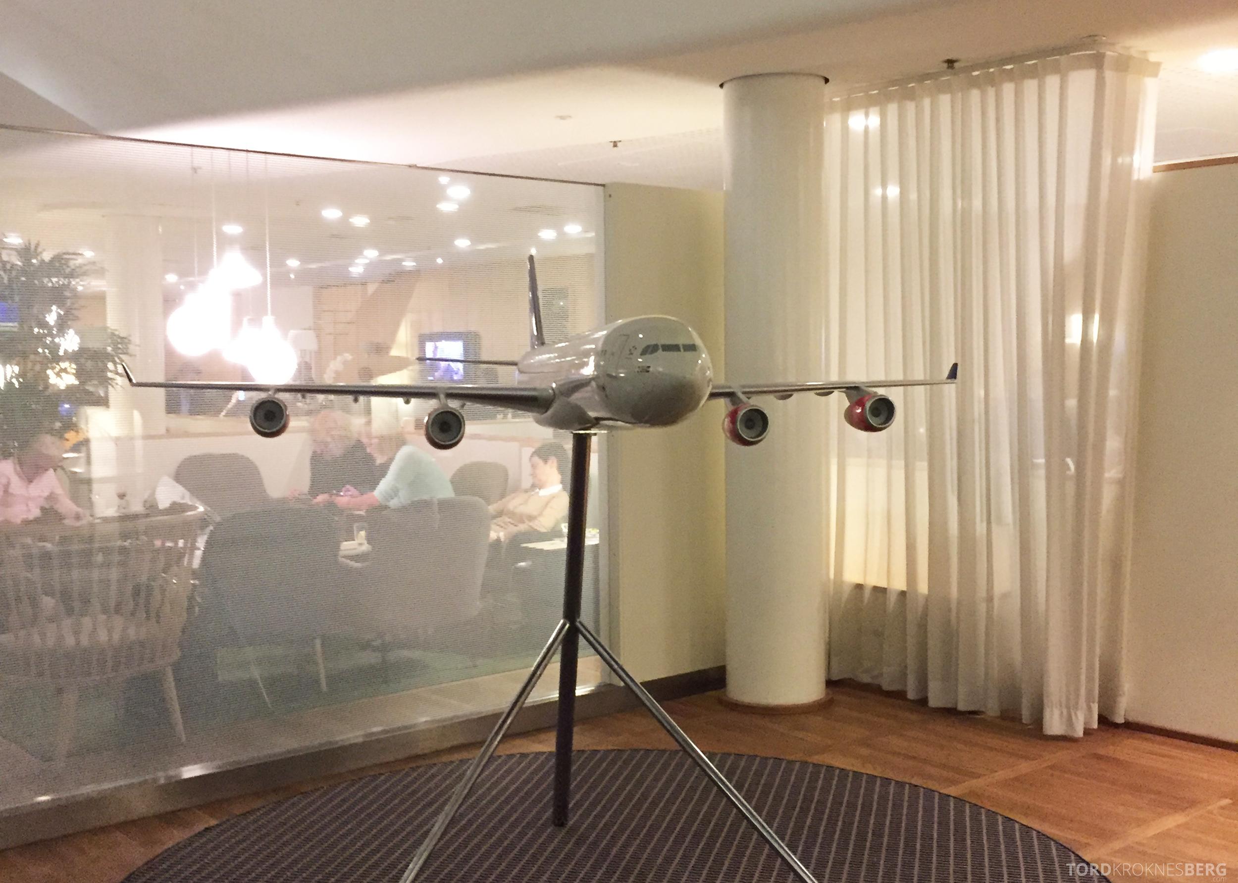 SAS Gold Lounge København fly