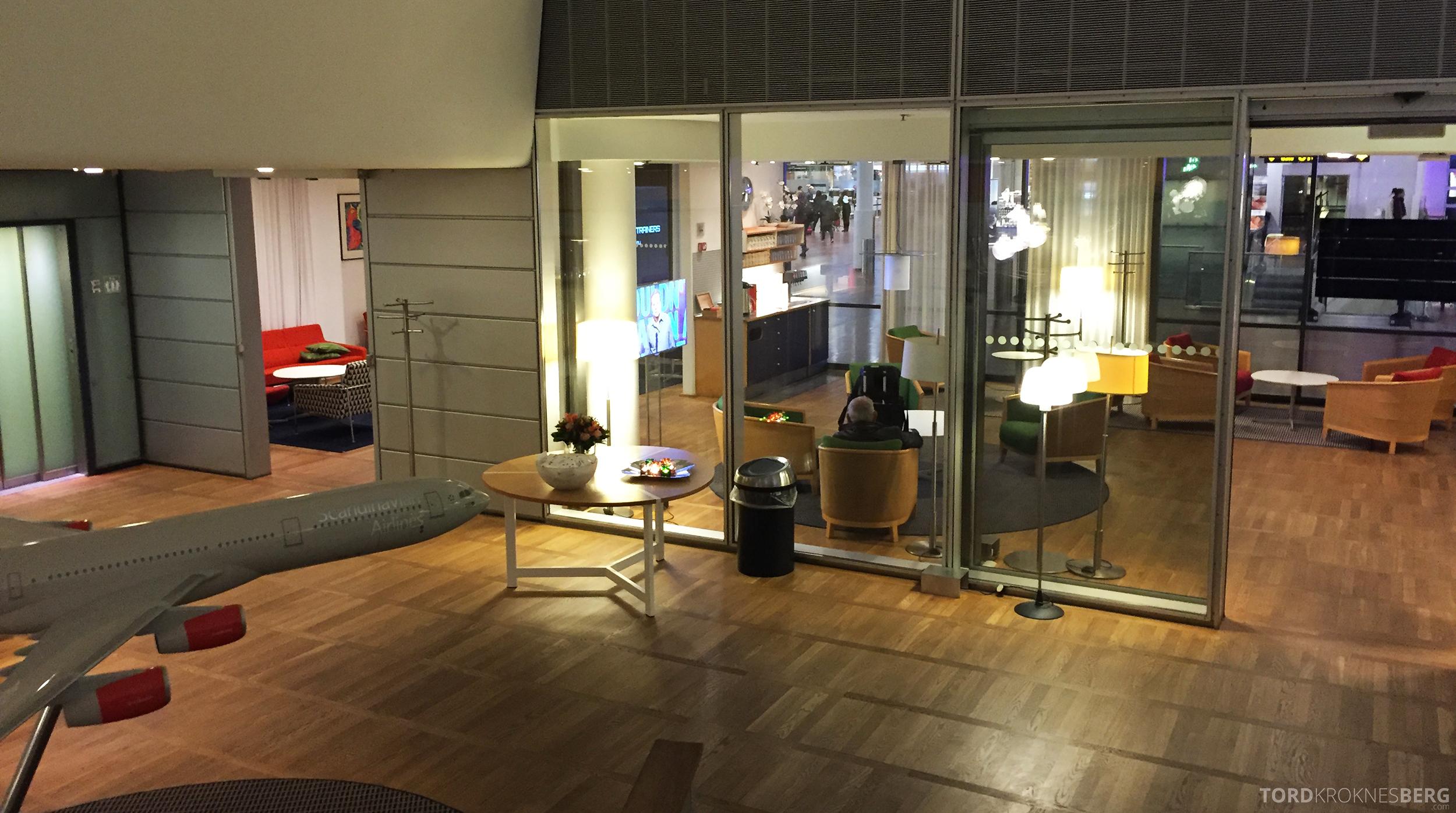 SAS Gold Lounge København utsikt