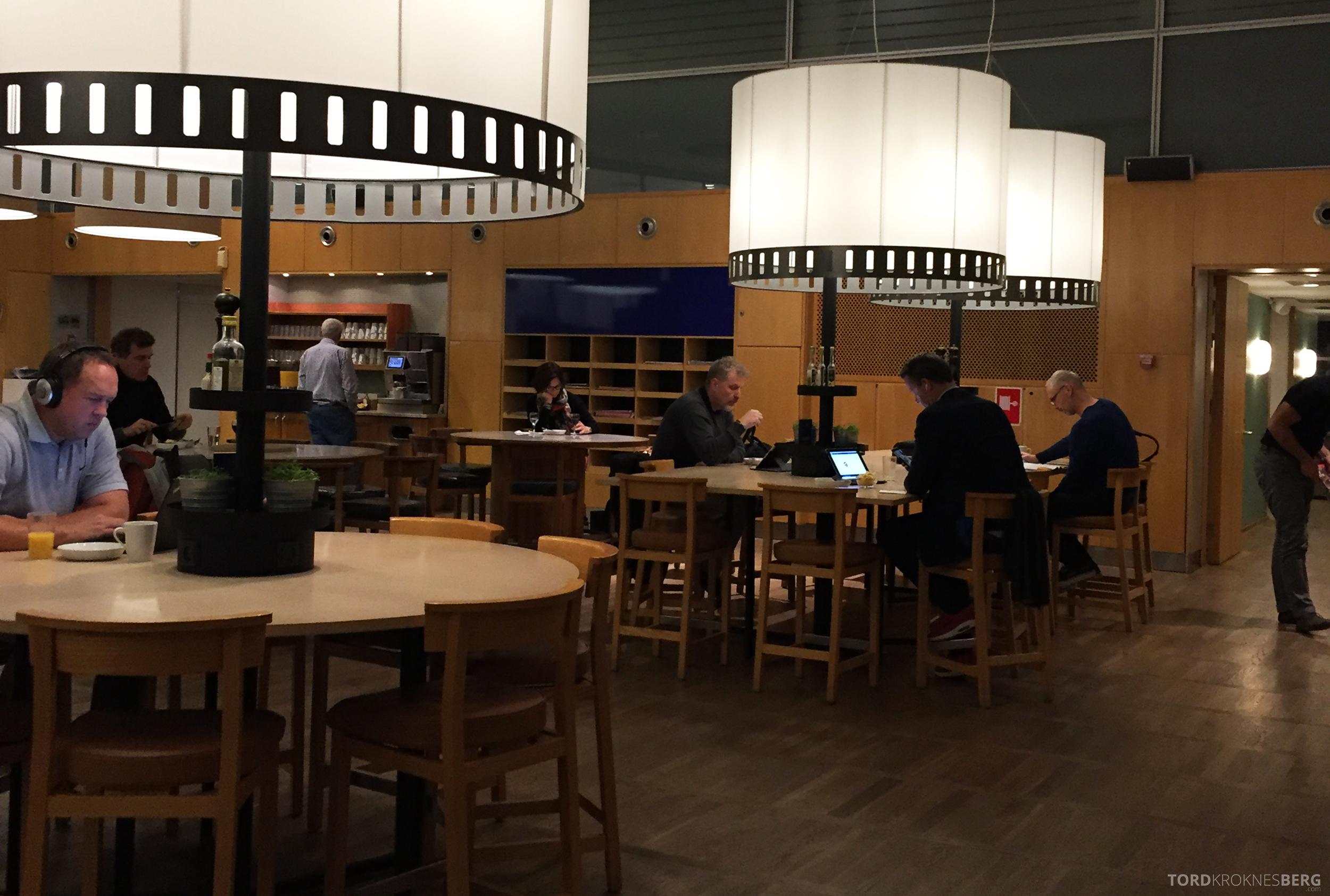 SAS Gold Lounge København overblikk