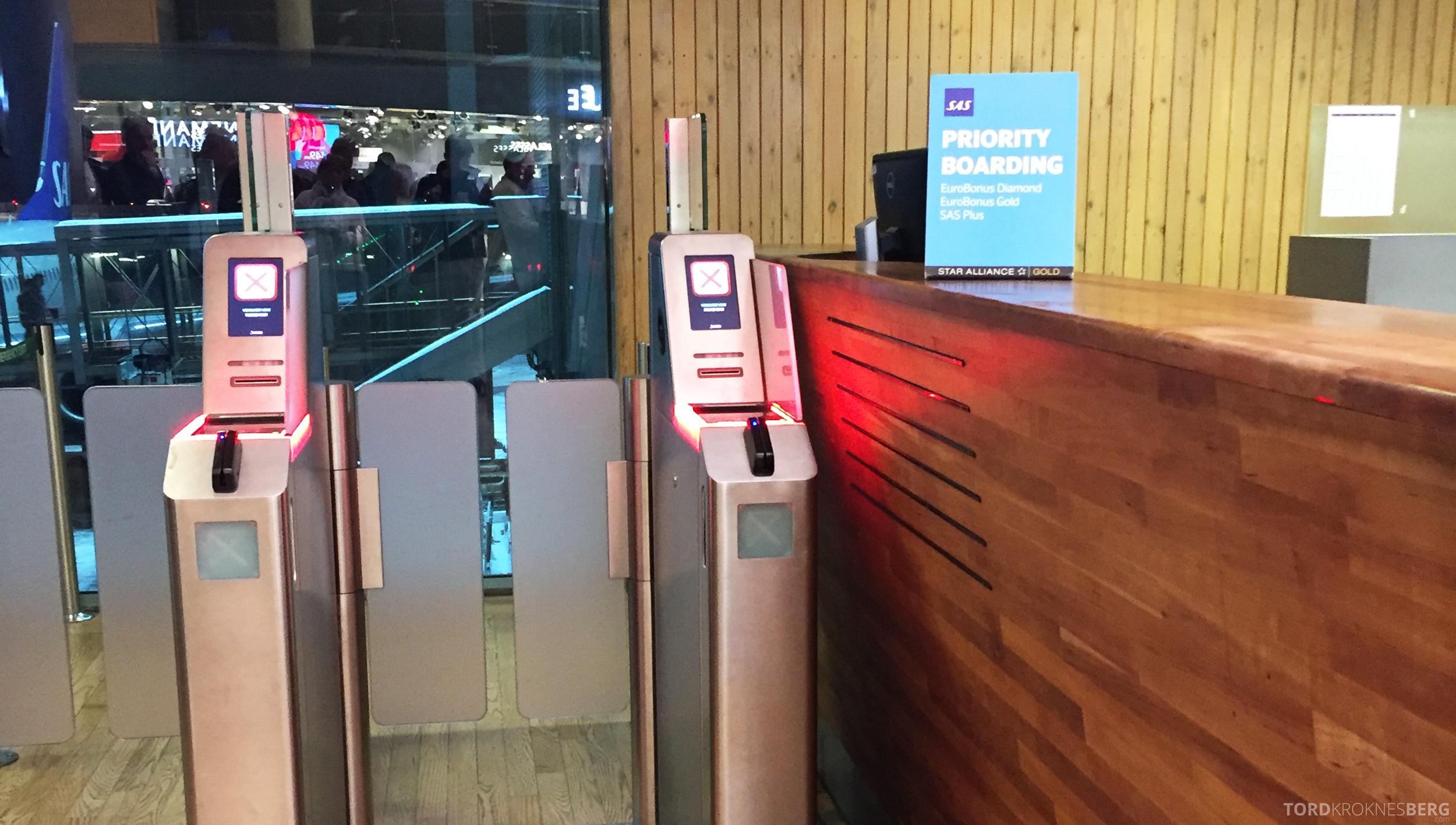 SAS Plus Oslo Malaga prioritert ombordstigning