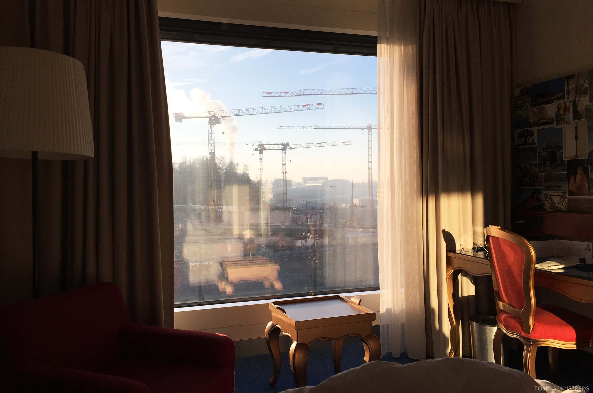 Radisson Blu Zurich Airport Hotel utsikt
