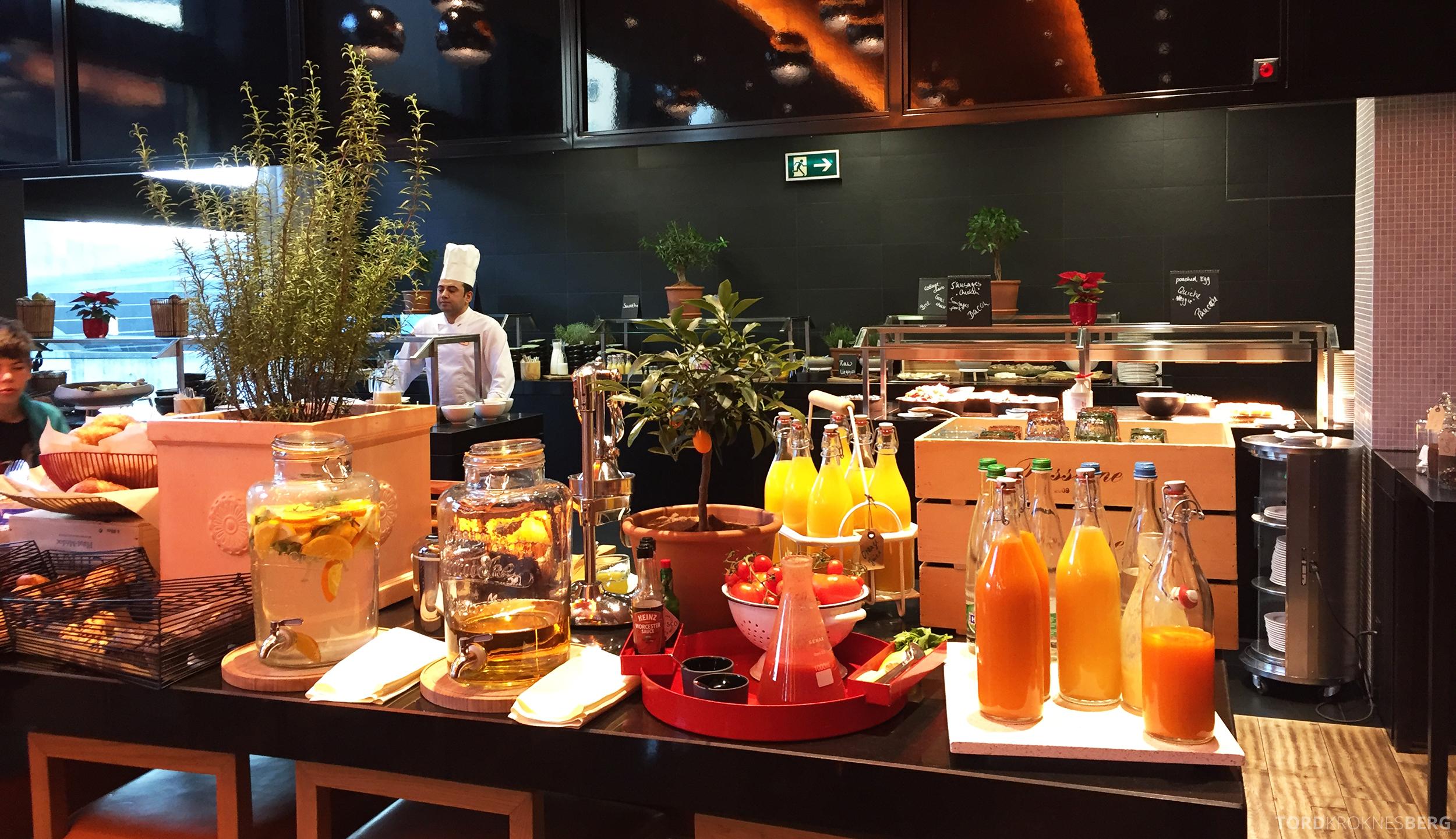 Radisson Blu Zurich Airport Hotel frokostbuffet