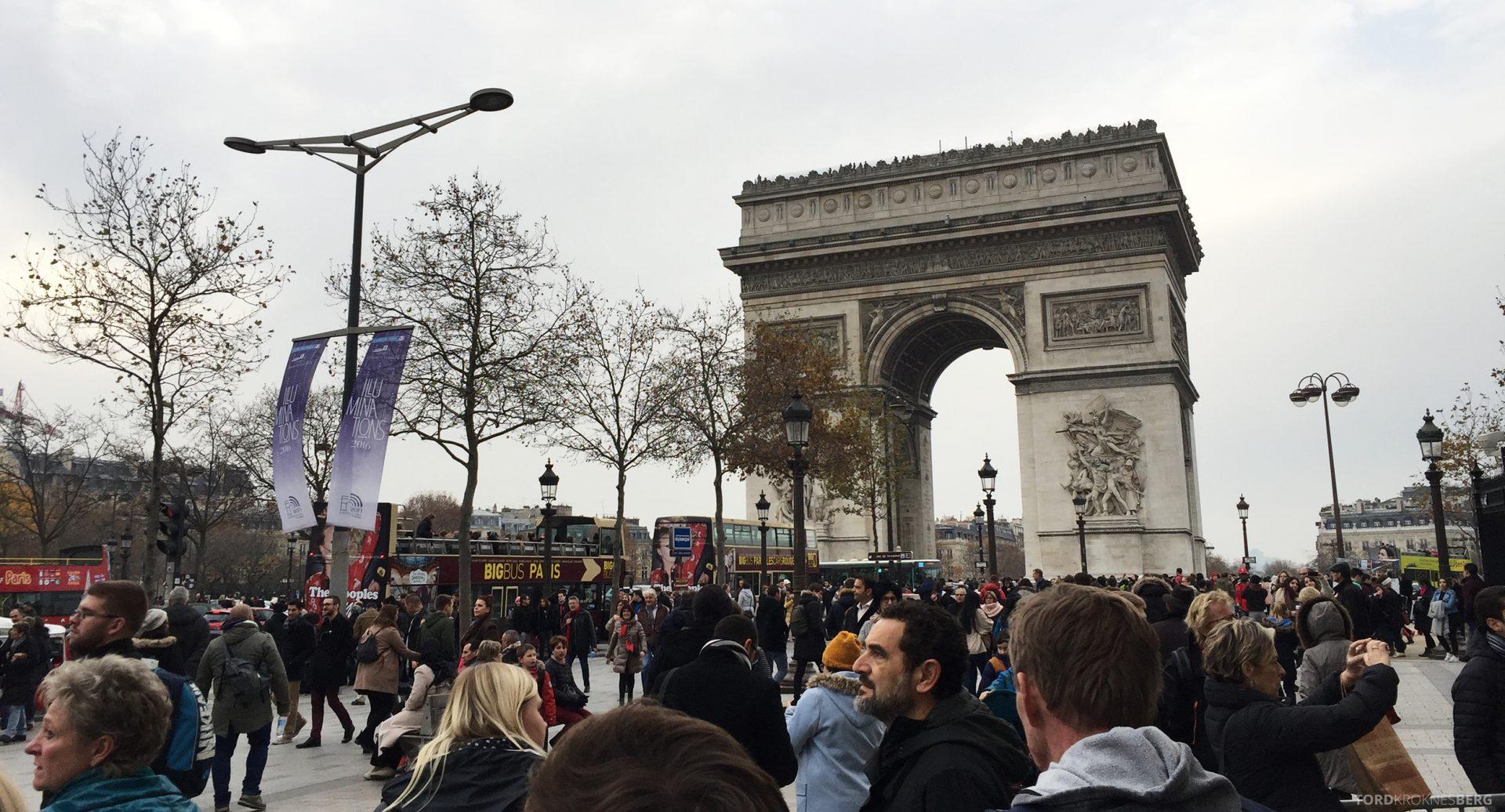 Triumfbuen i Paris