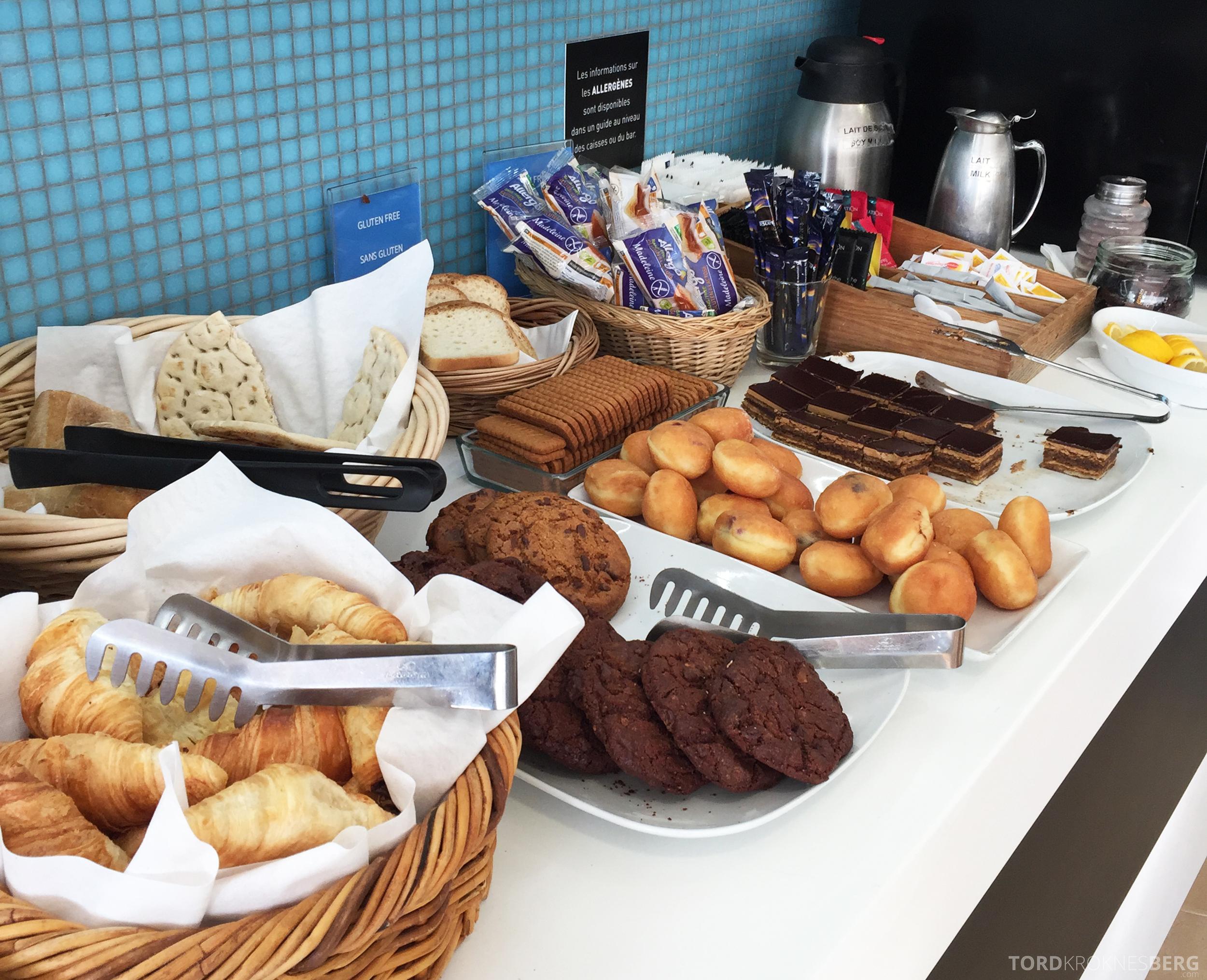 SAS Lounge Paris buffet