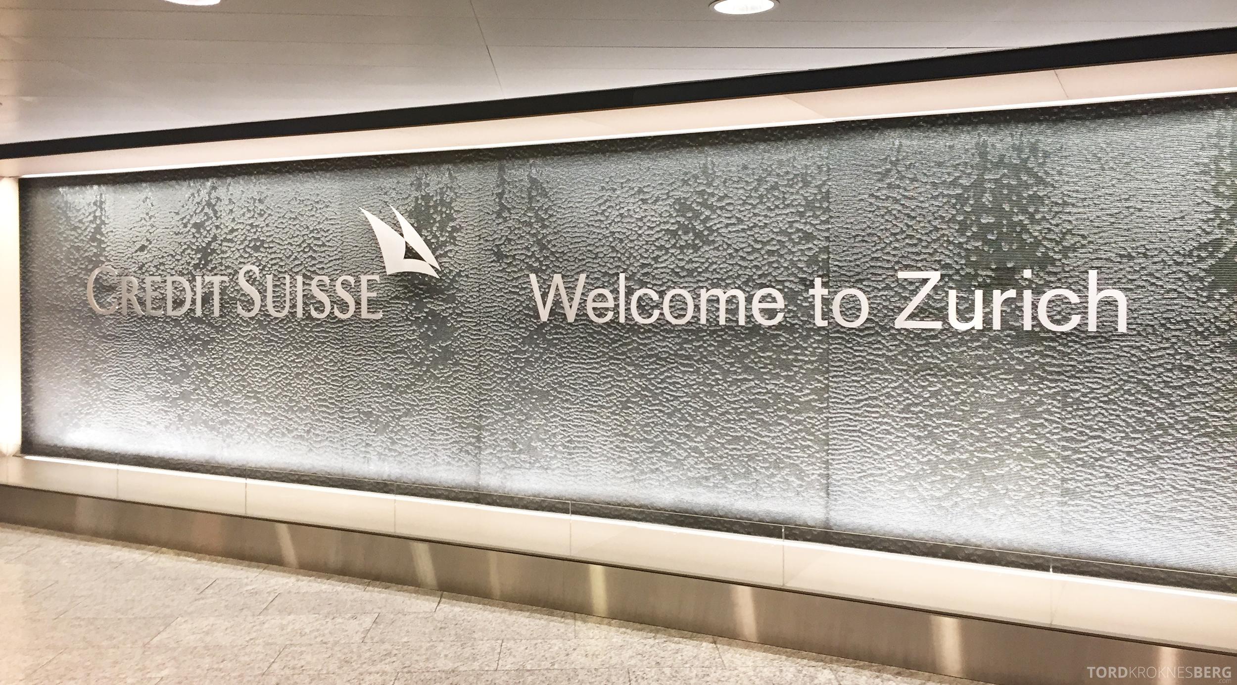 SAS Plus Oslo Zürich velkommen