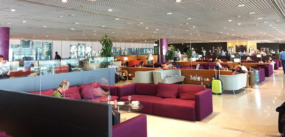 Sala VIP Lounge Malaga oversikt