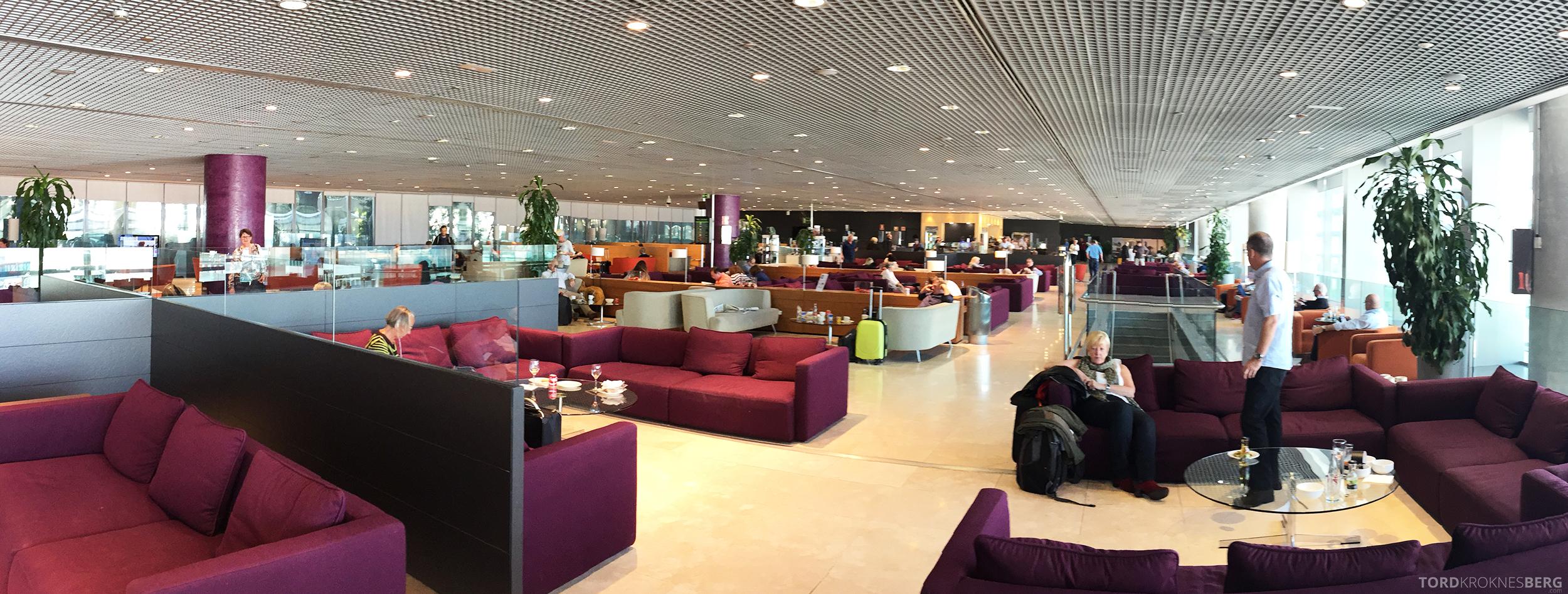 Sala VIP Lounge Malaga panorama