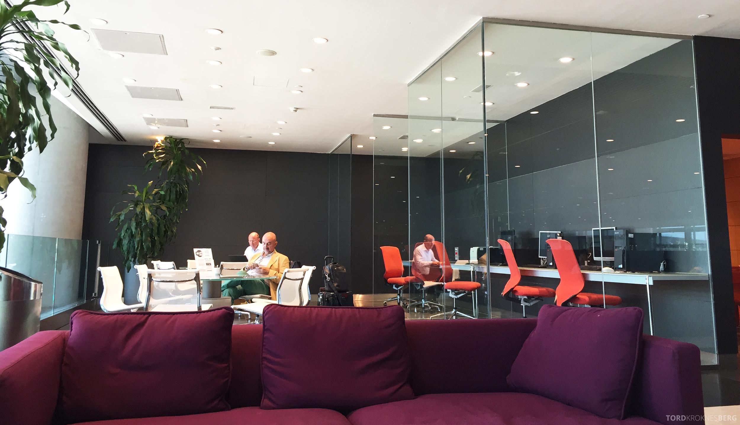 Sala VIP Lounge Malaga jobbekrok