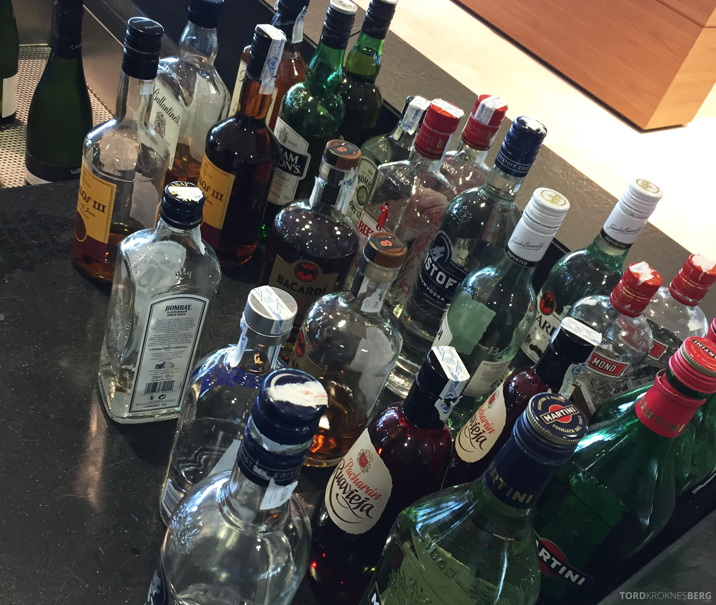 Sala VIP Lounge Malaga drikke