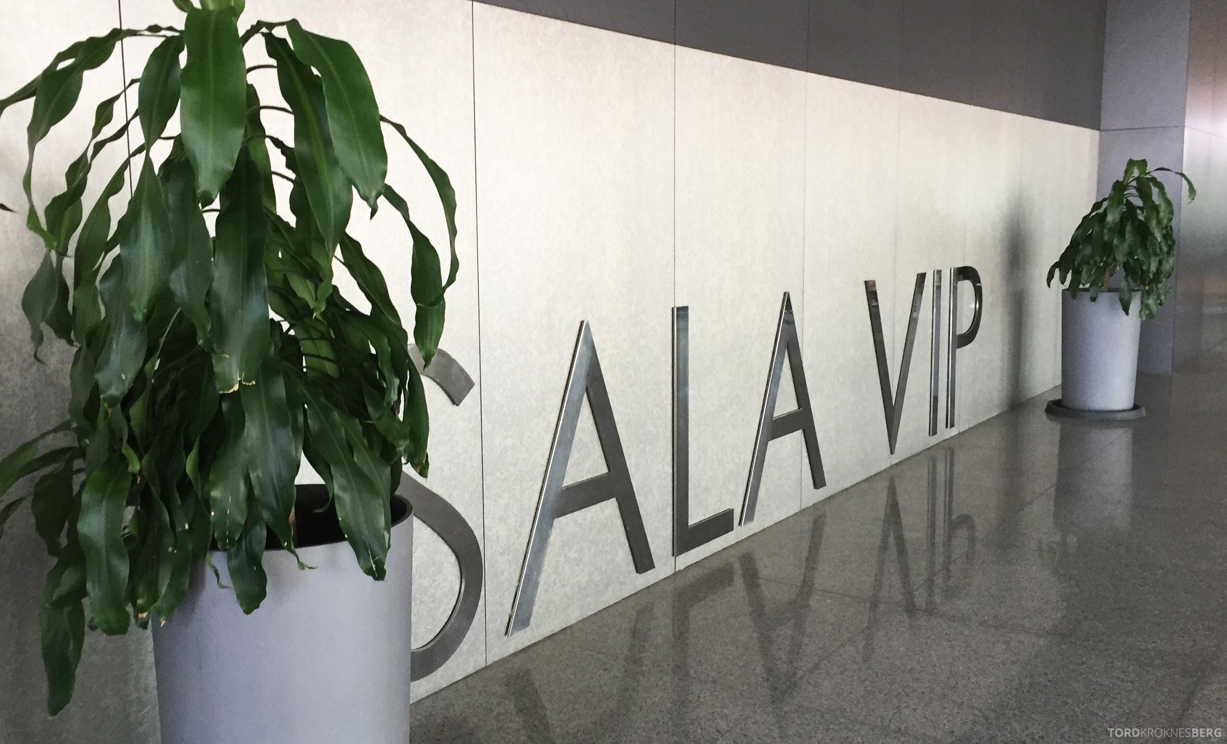 Sala VIP Lounge Malaga inngang