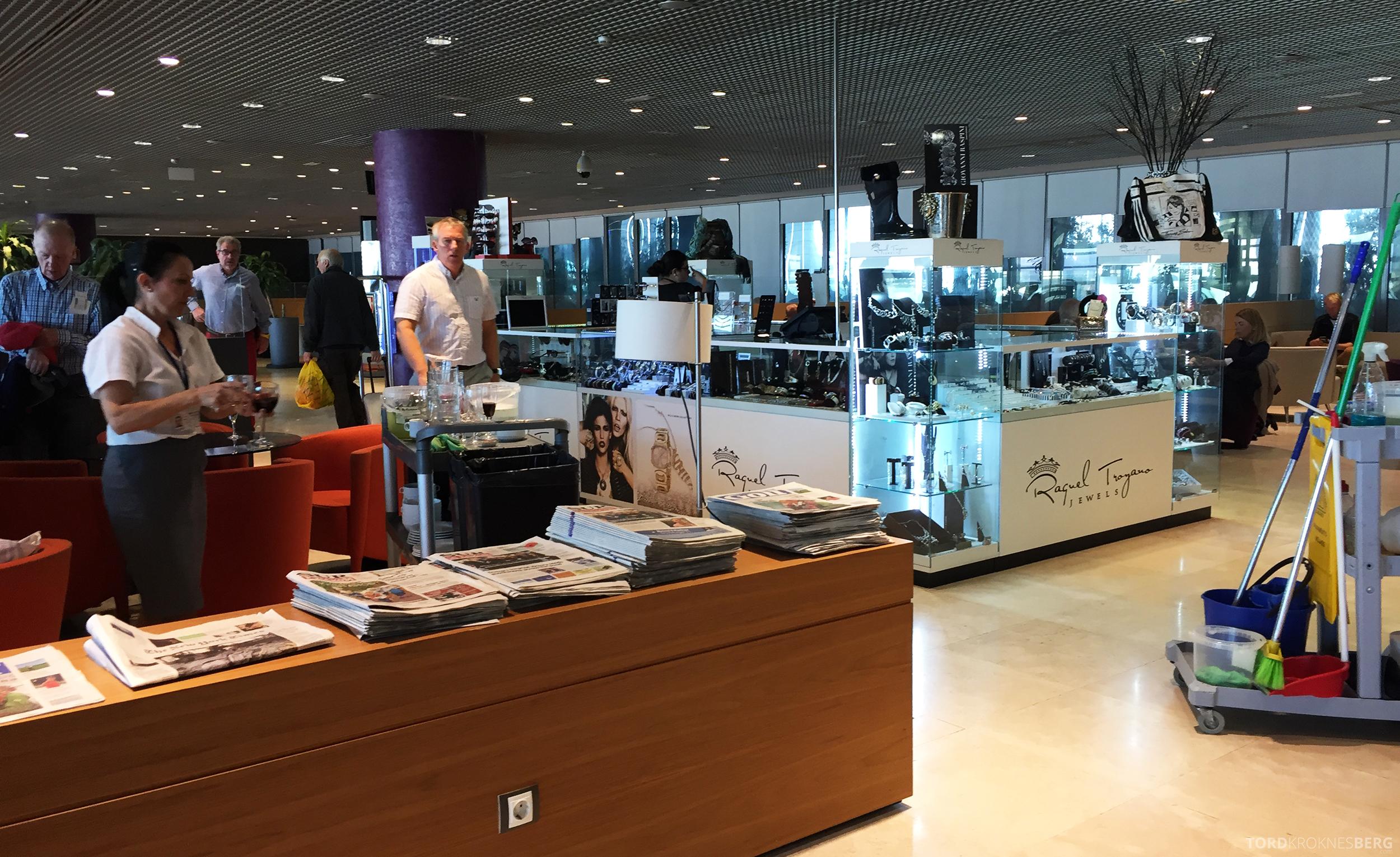 Sala VIP Lounge Malaga smykker
