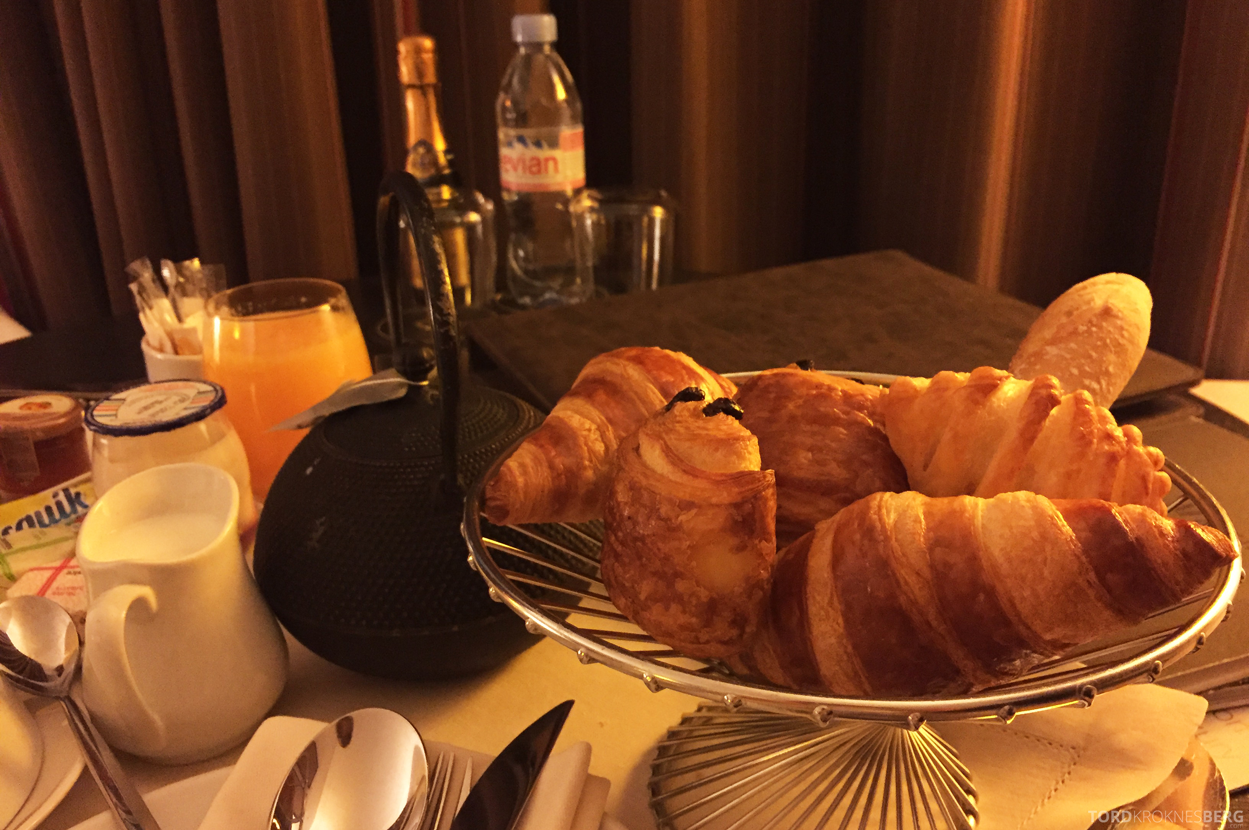 Sofitel Paris La Defense frokost