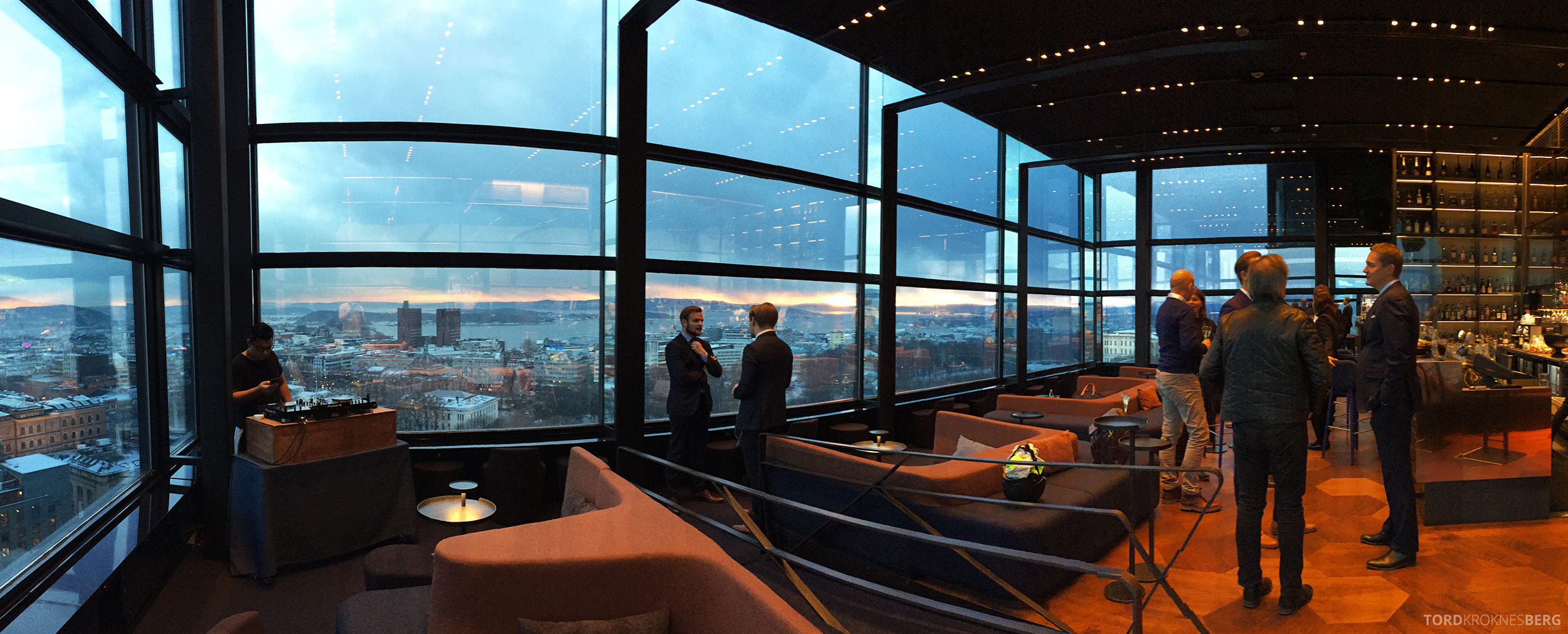 Summit Bar Oslo panorama