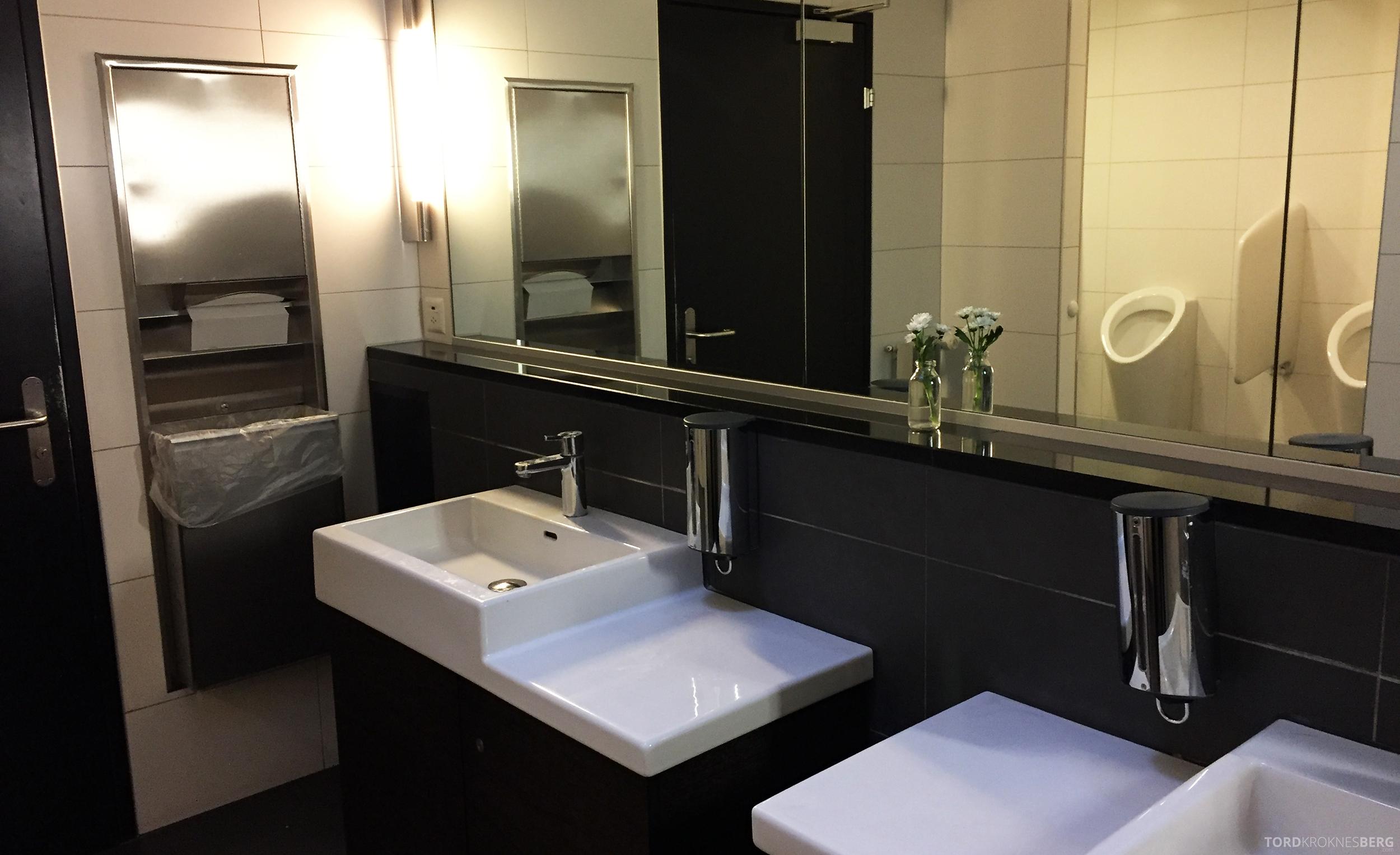 Swiss Senator Lounge Zurich toalett