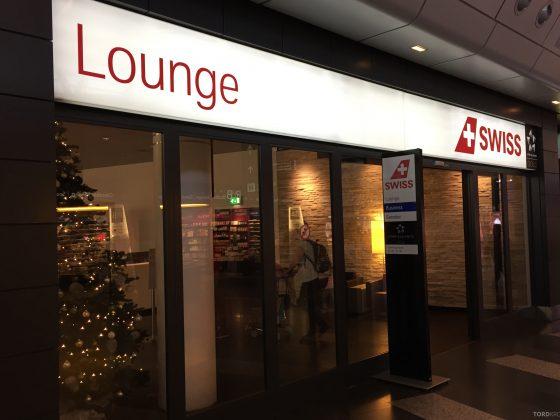 Swiss Senator Lounge Zurich inngang