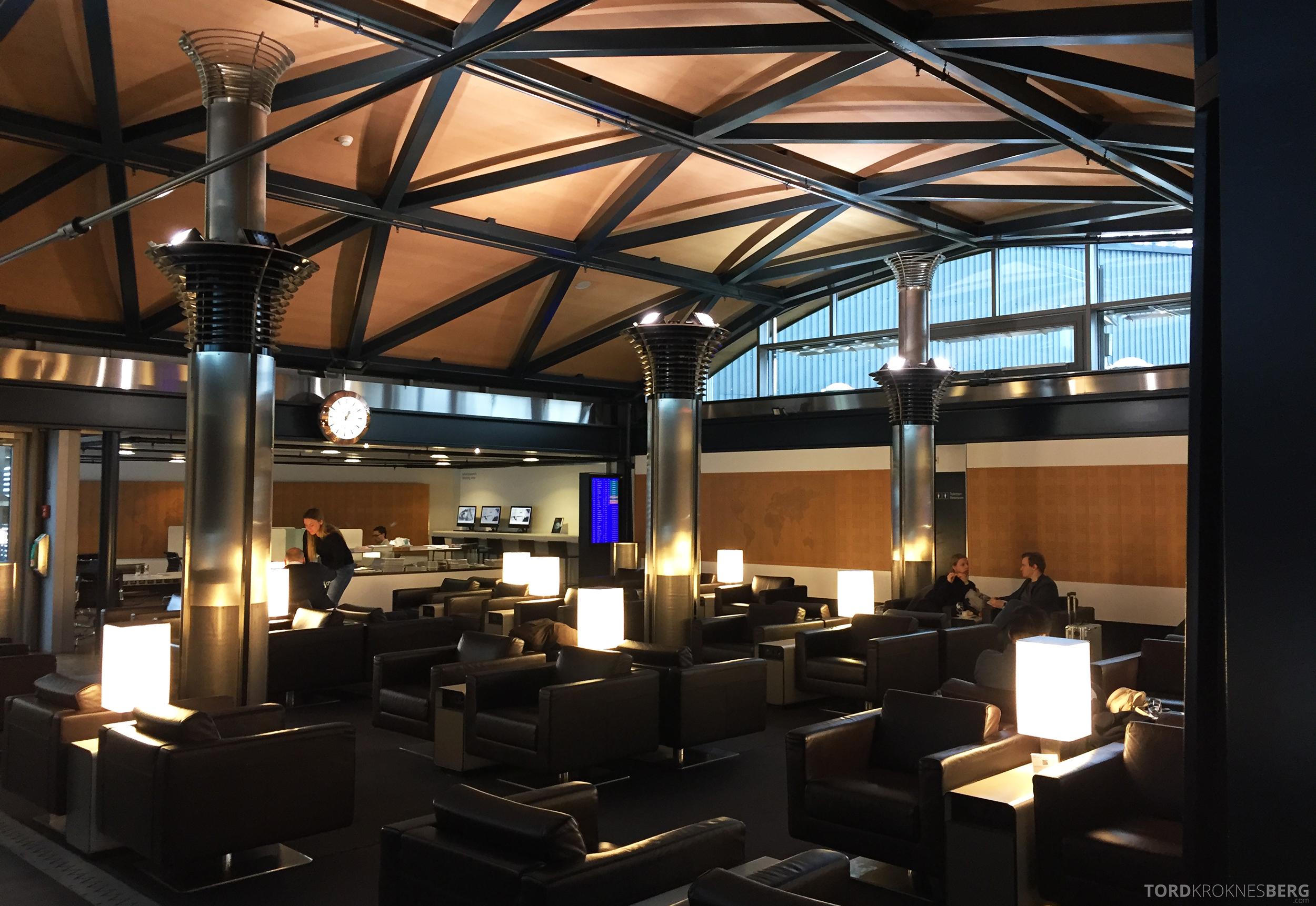 Swiss Senator Lounge Zurich oversikt