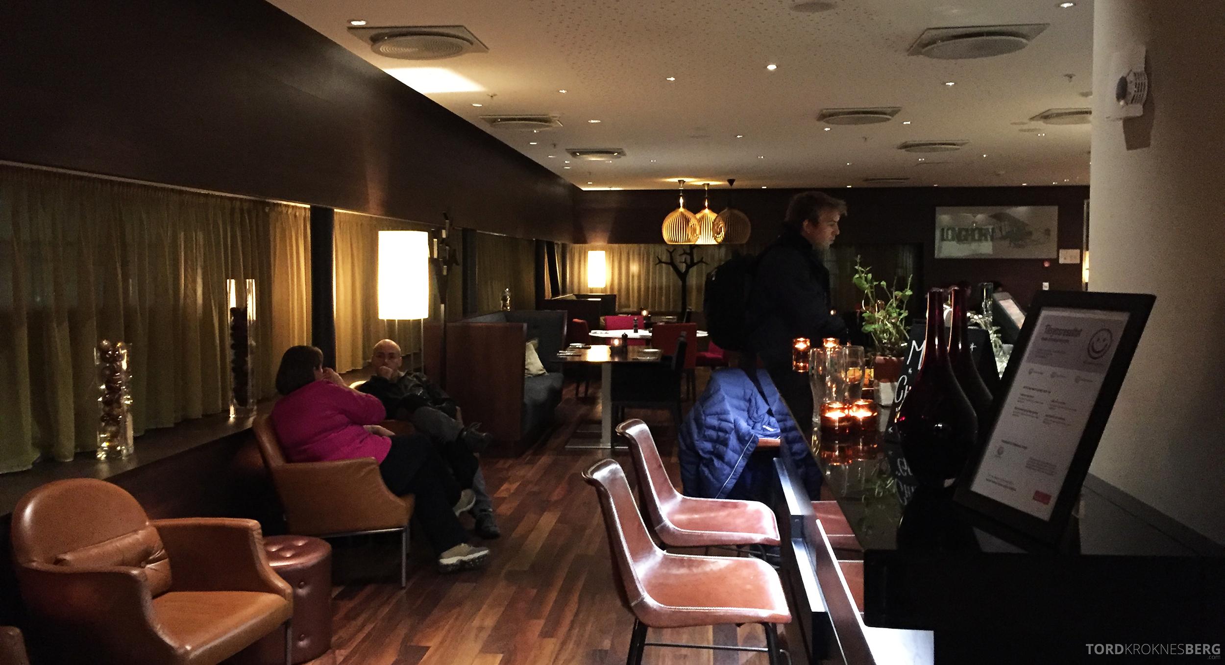 Longhorn Restaurant Radisson Blu Værnes Trondheim inngang