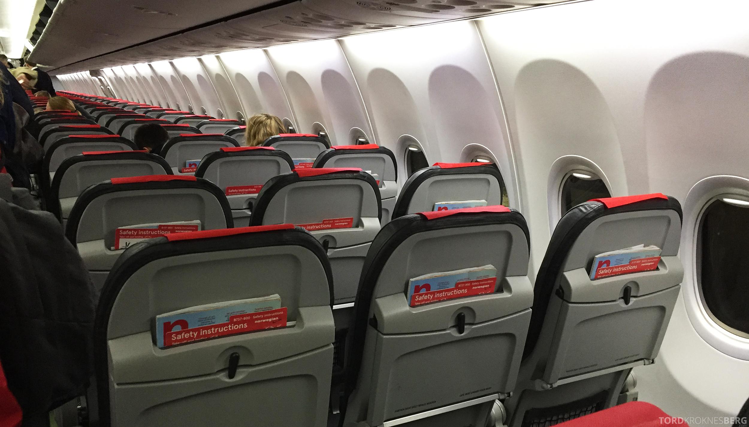 Norwegian Charter Trondheim Las Palmas ombord