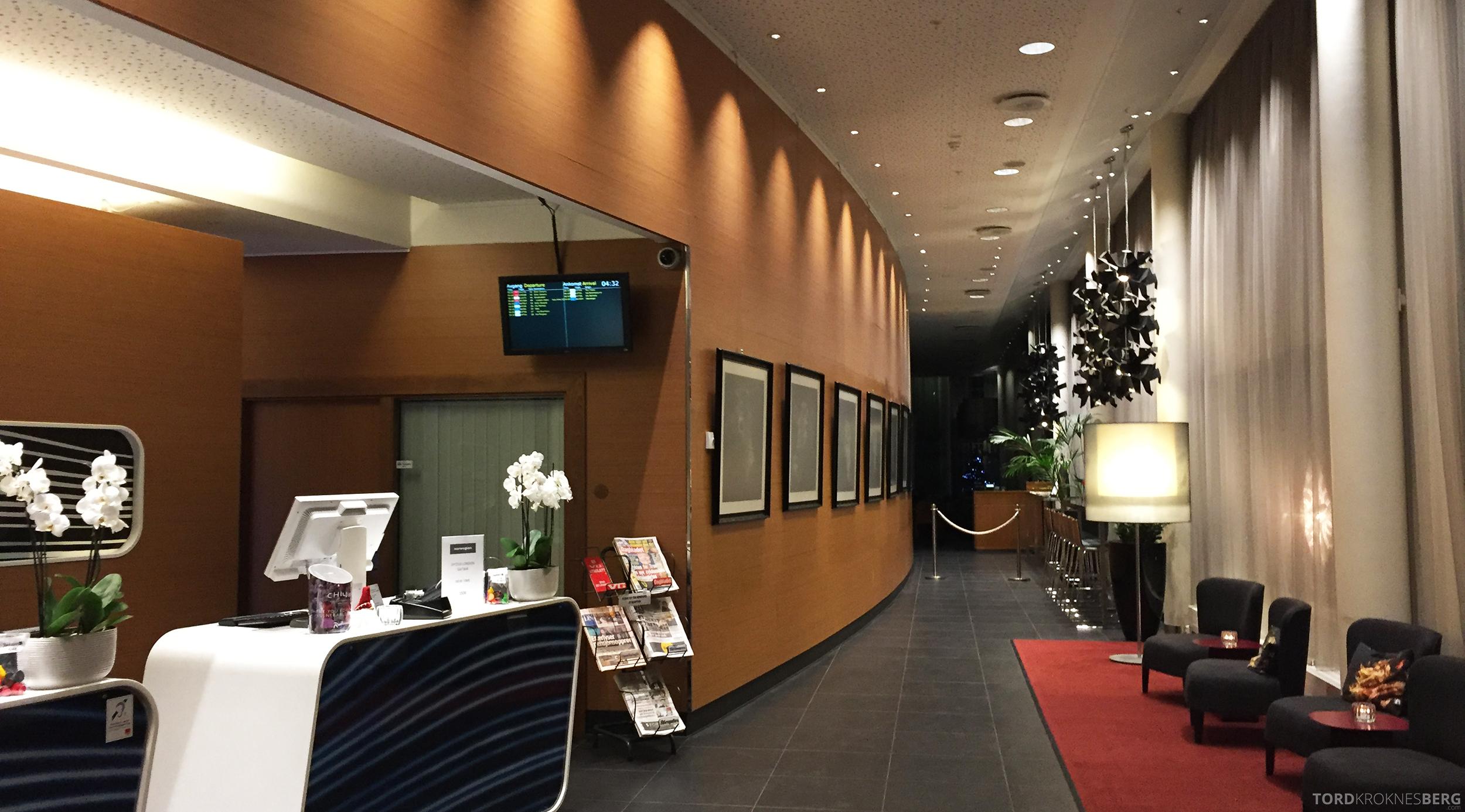 Radisson Blu Airport Hotel Trondheim utsjekk