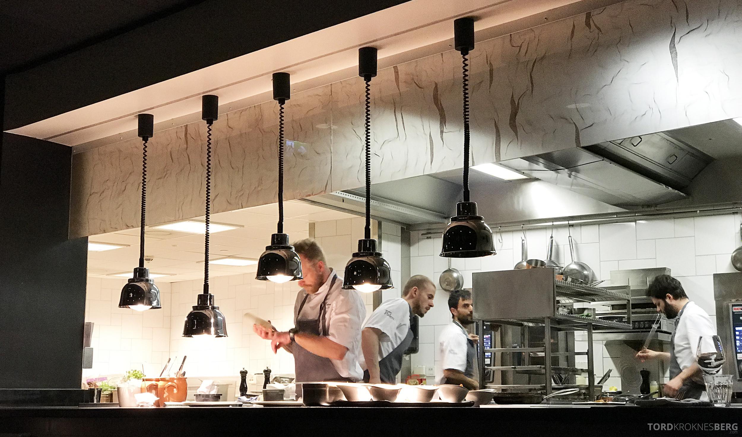 Brasserie Paleo Oslo åpent kjøkken