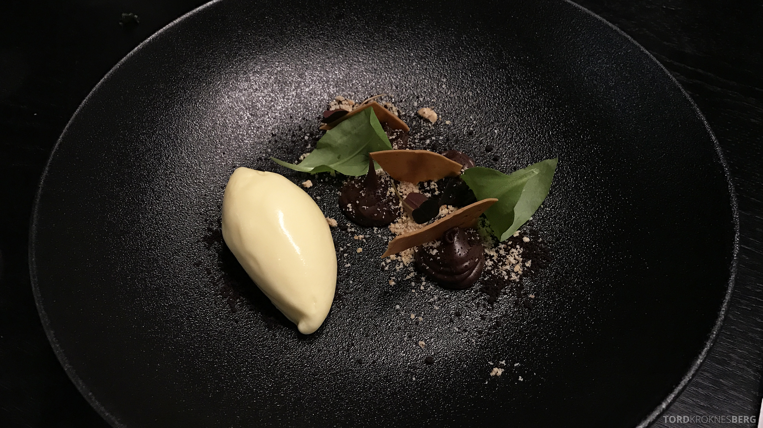 Brasserie Paleo Oslo dessert sjokolade