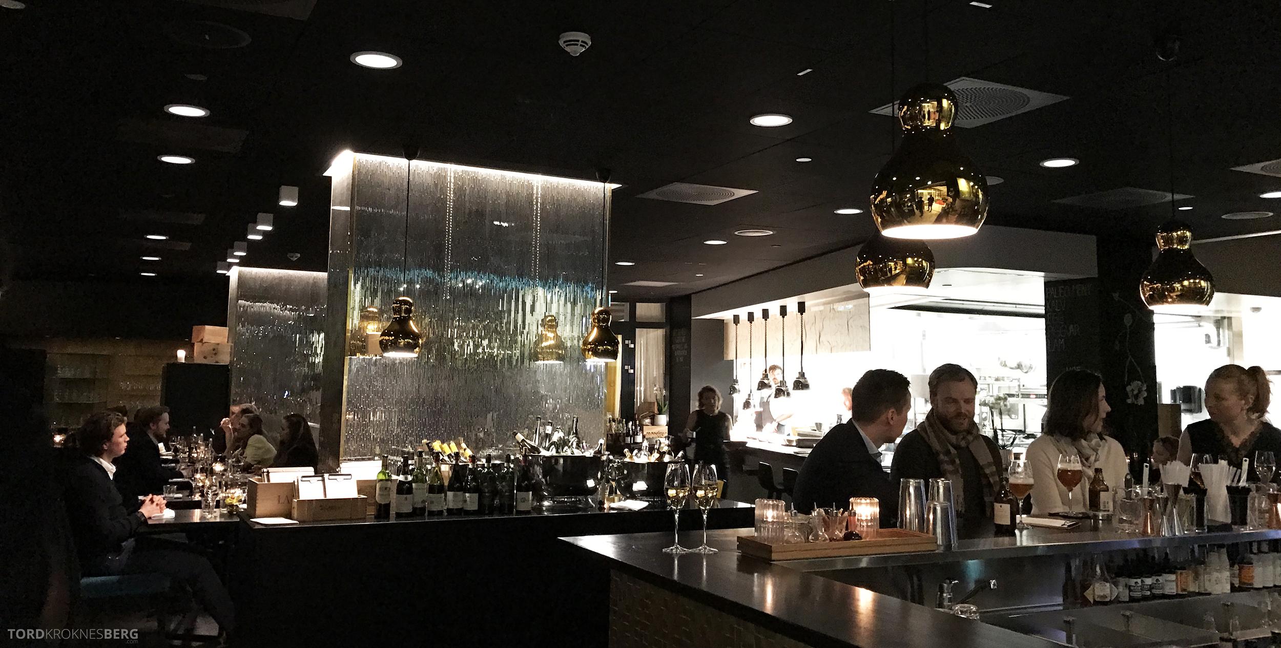 Brasserie Paleo Oslo utsikt