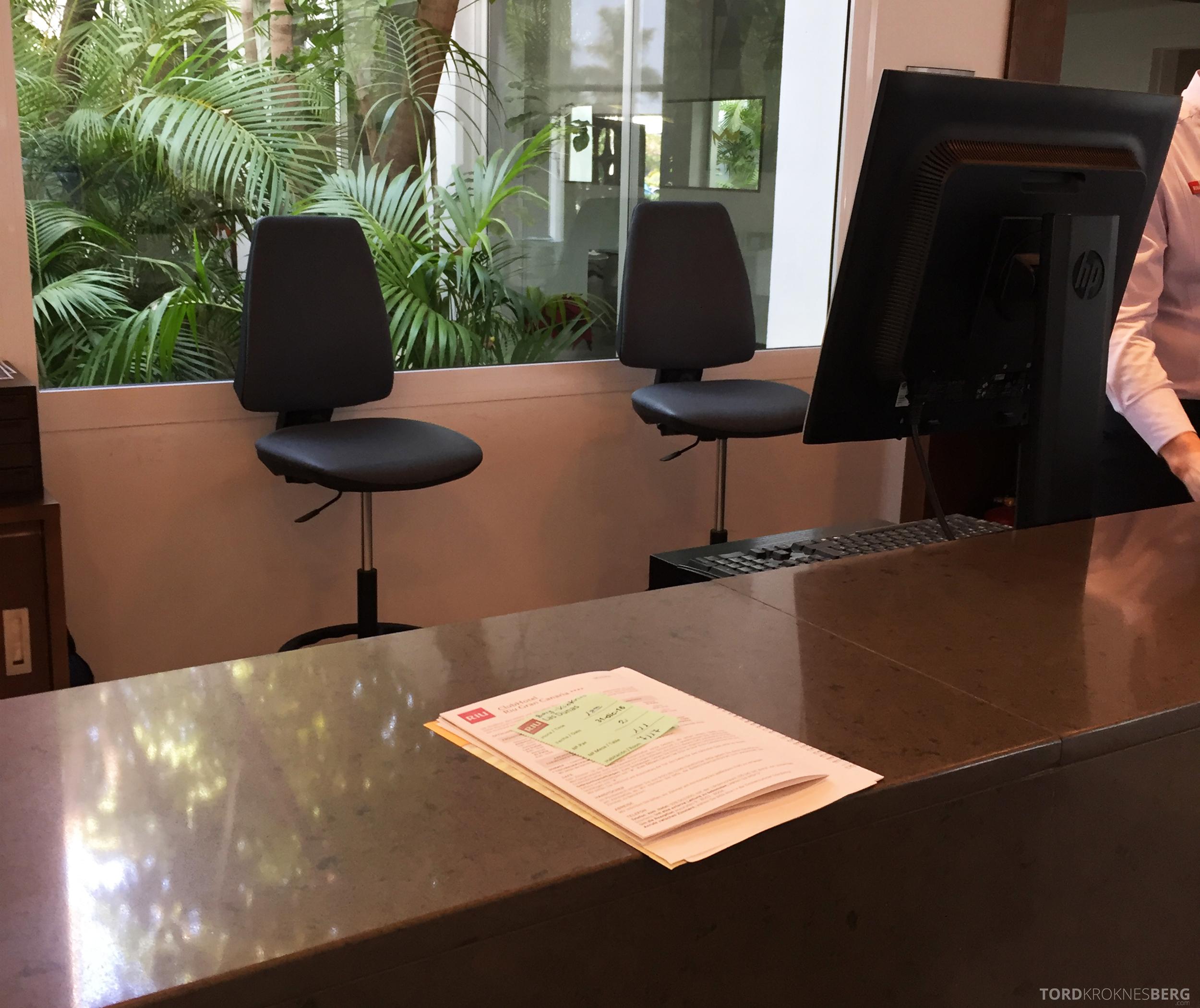 ClubHotel RIU Gran Canaria innsjekk