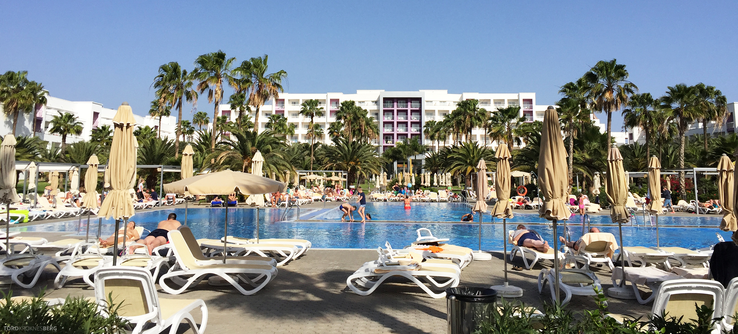 ClubHotel RIU Gran Canaria bassengområde