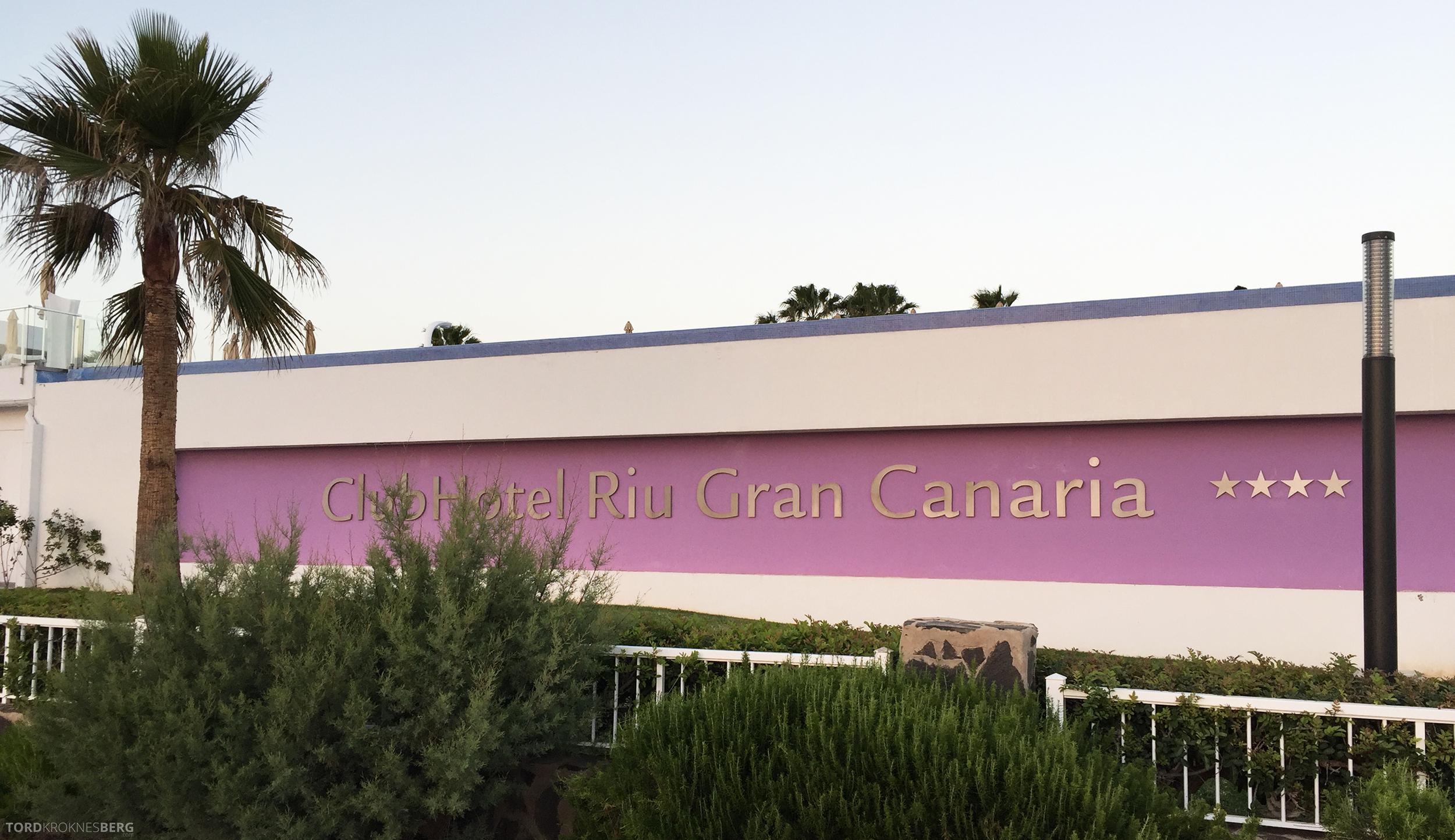 ClubHotel RIU Gran Canaria skilt