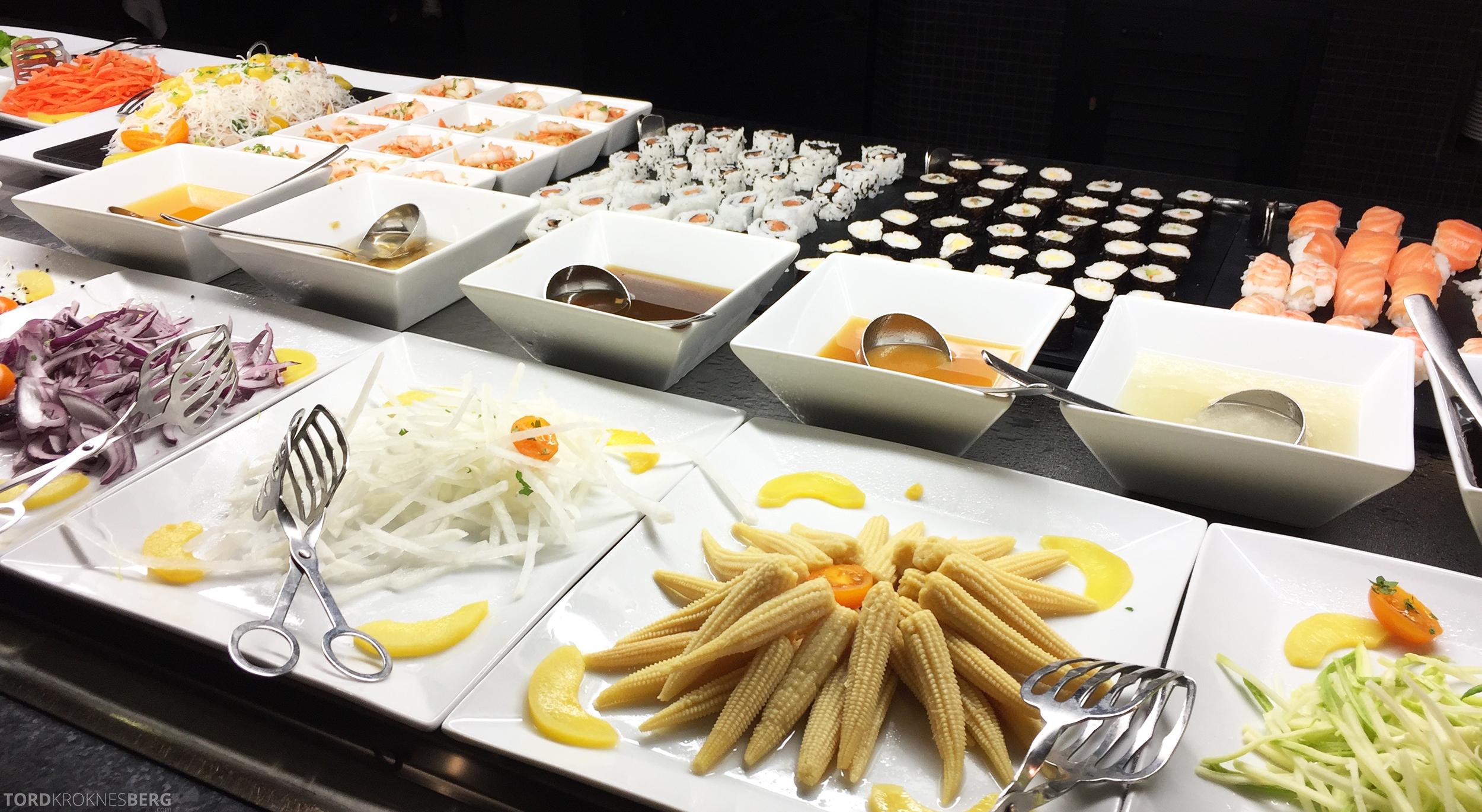 ClubHotel RIU Gran Canaria asiatisk buffet