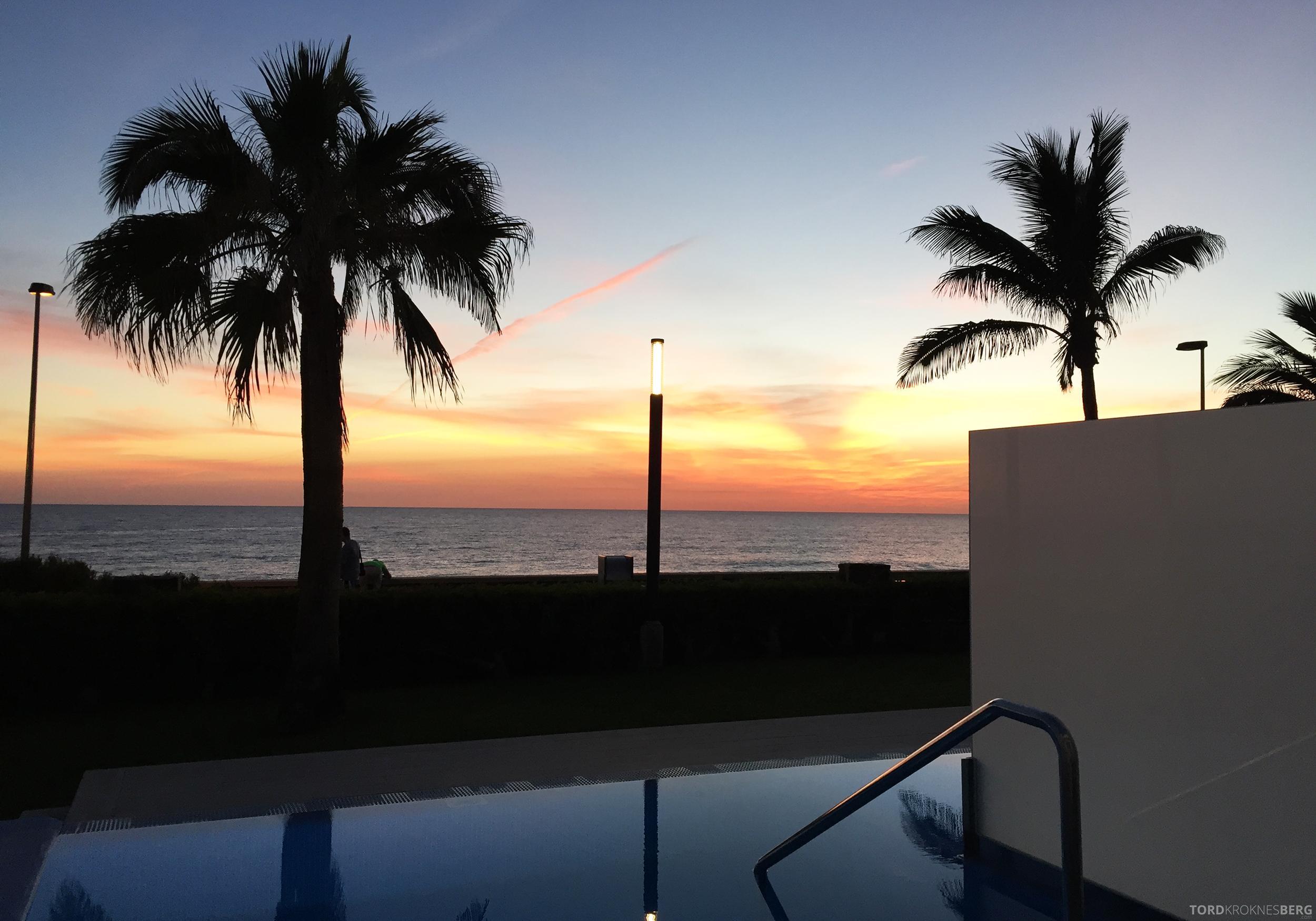 ClubHotel RIU Gran Canaria solnedgang