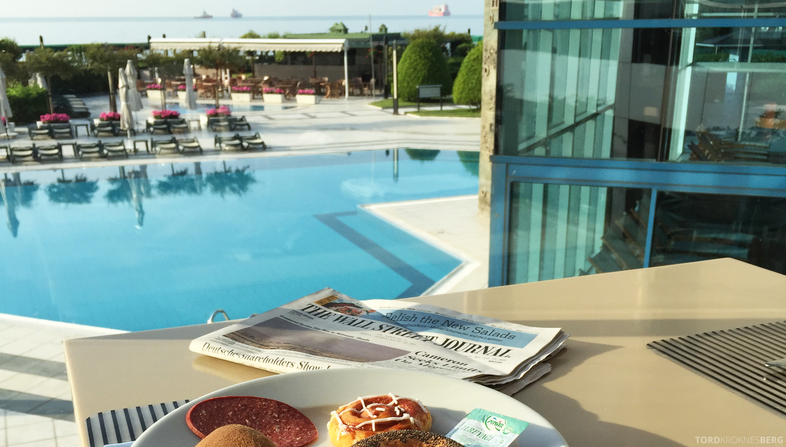 Renaissance Polat Istanbul Hotel frokost