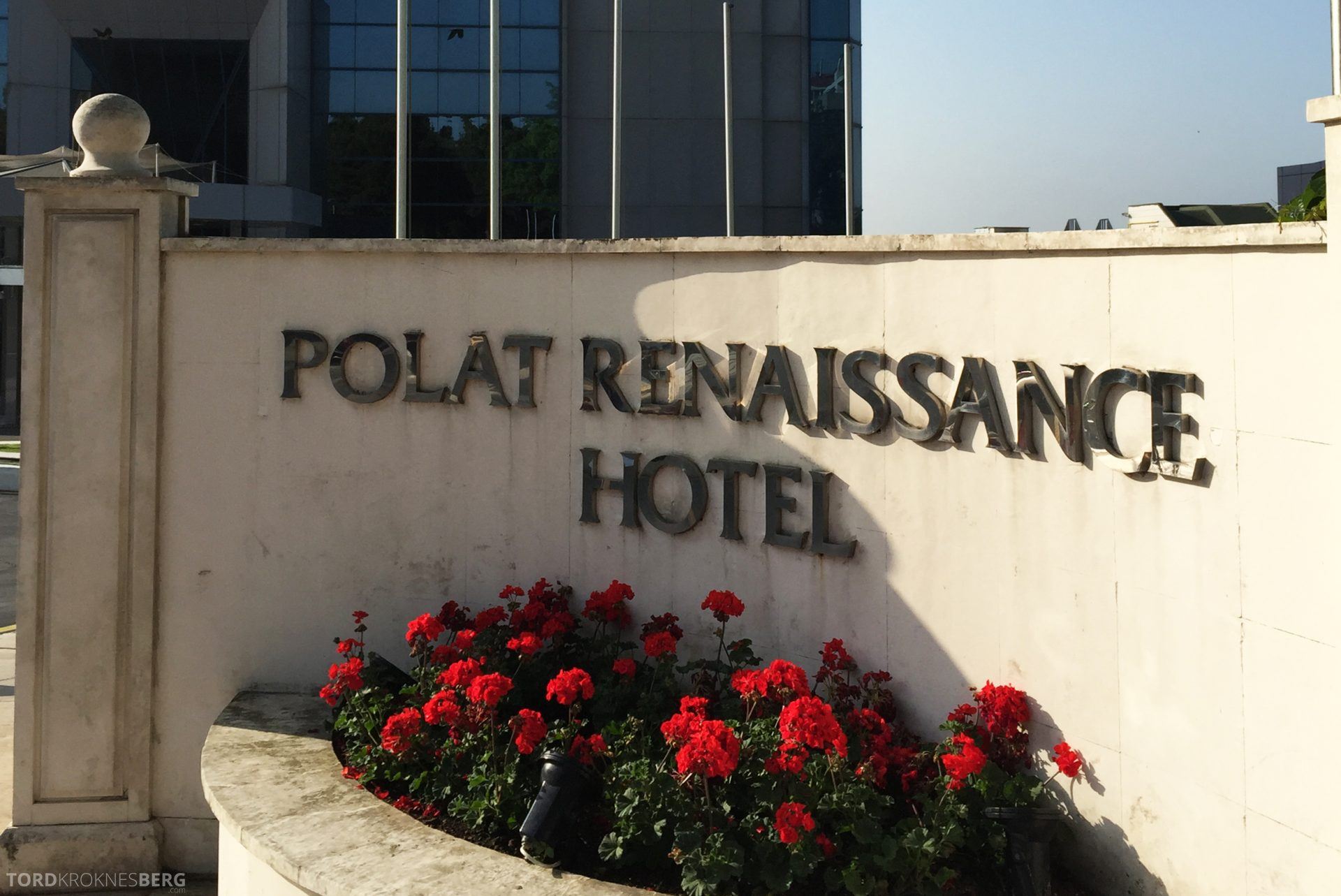 Renaissance Polat Istanbul Hotel inngang
