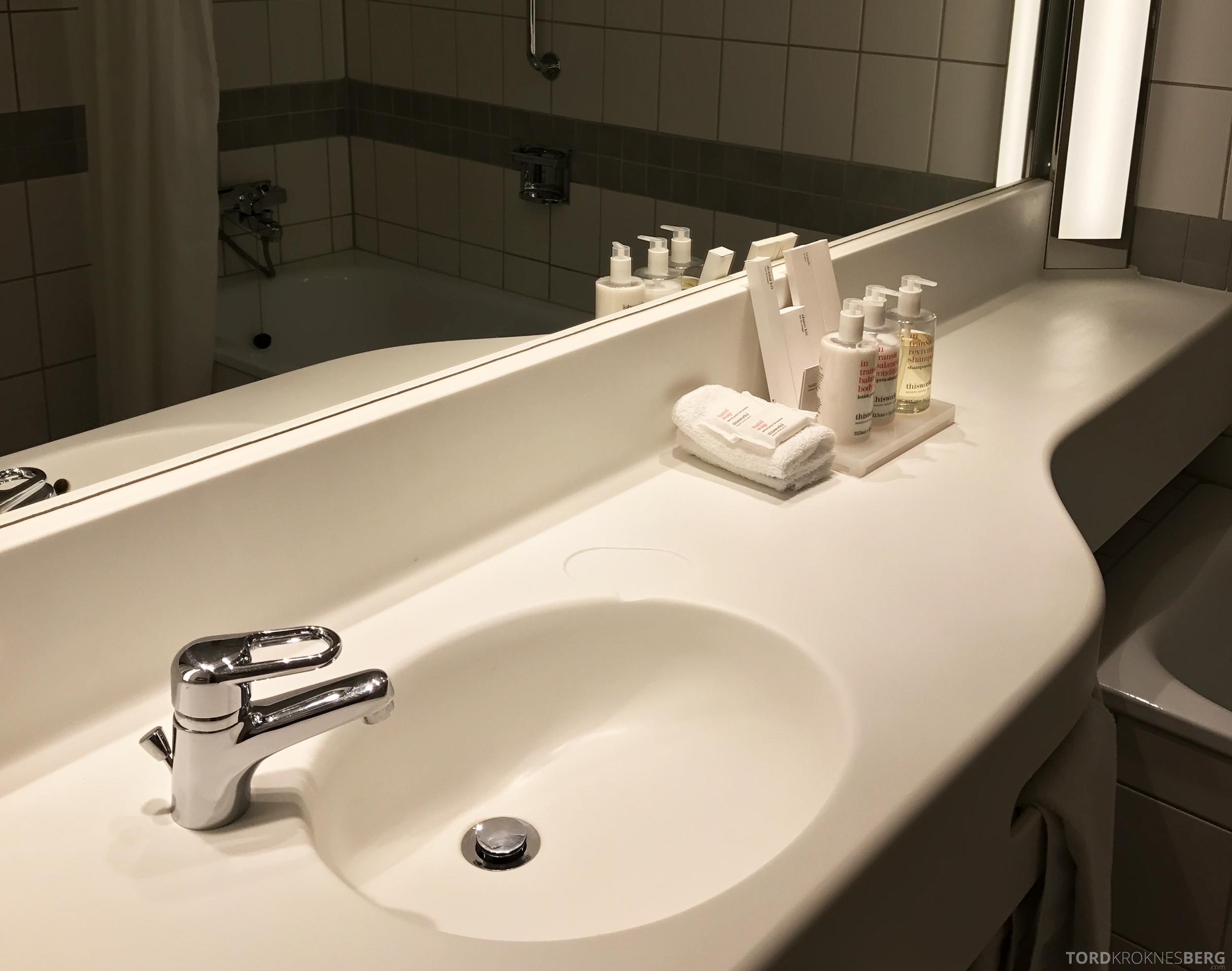 Radisson Blu Scandinavia Hotel suite gjestebad