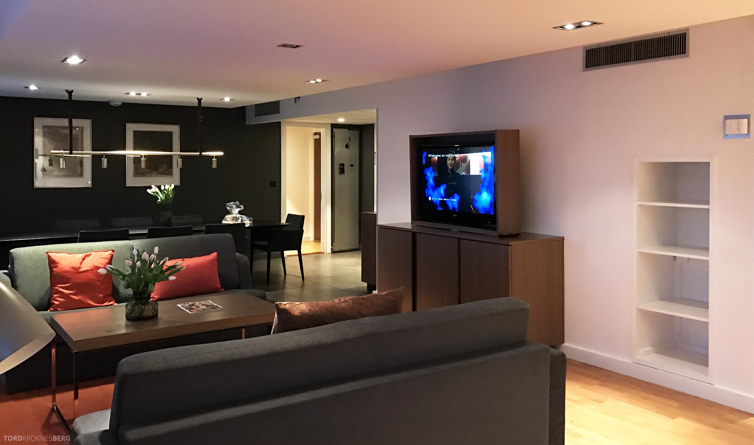 Radisson Blu Scandinavia Hotel suite stue