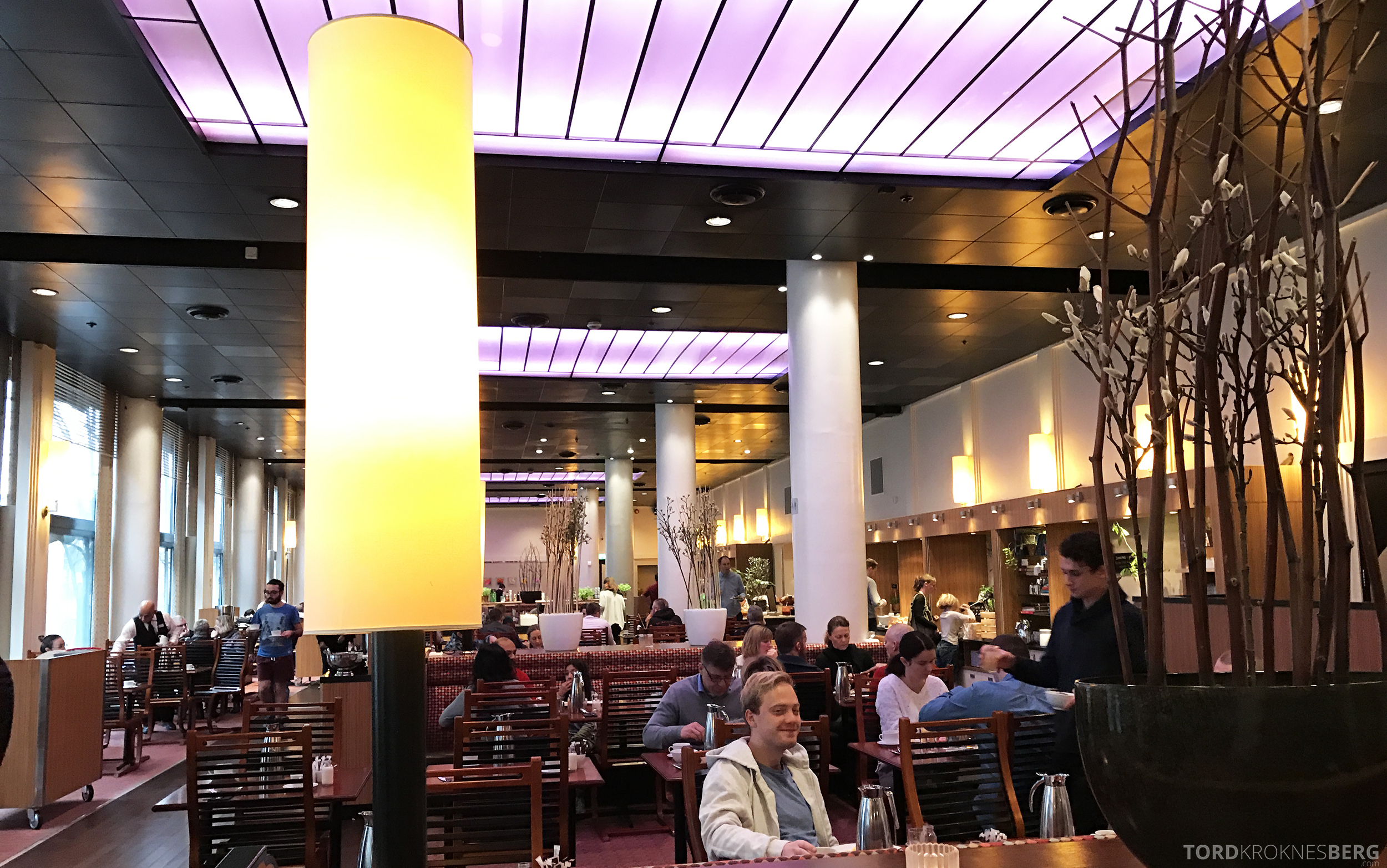 Radisson Blu Scandinavia Hotel frokostsal