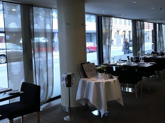 Radisson Blu Scandinavia Hotel restaurant