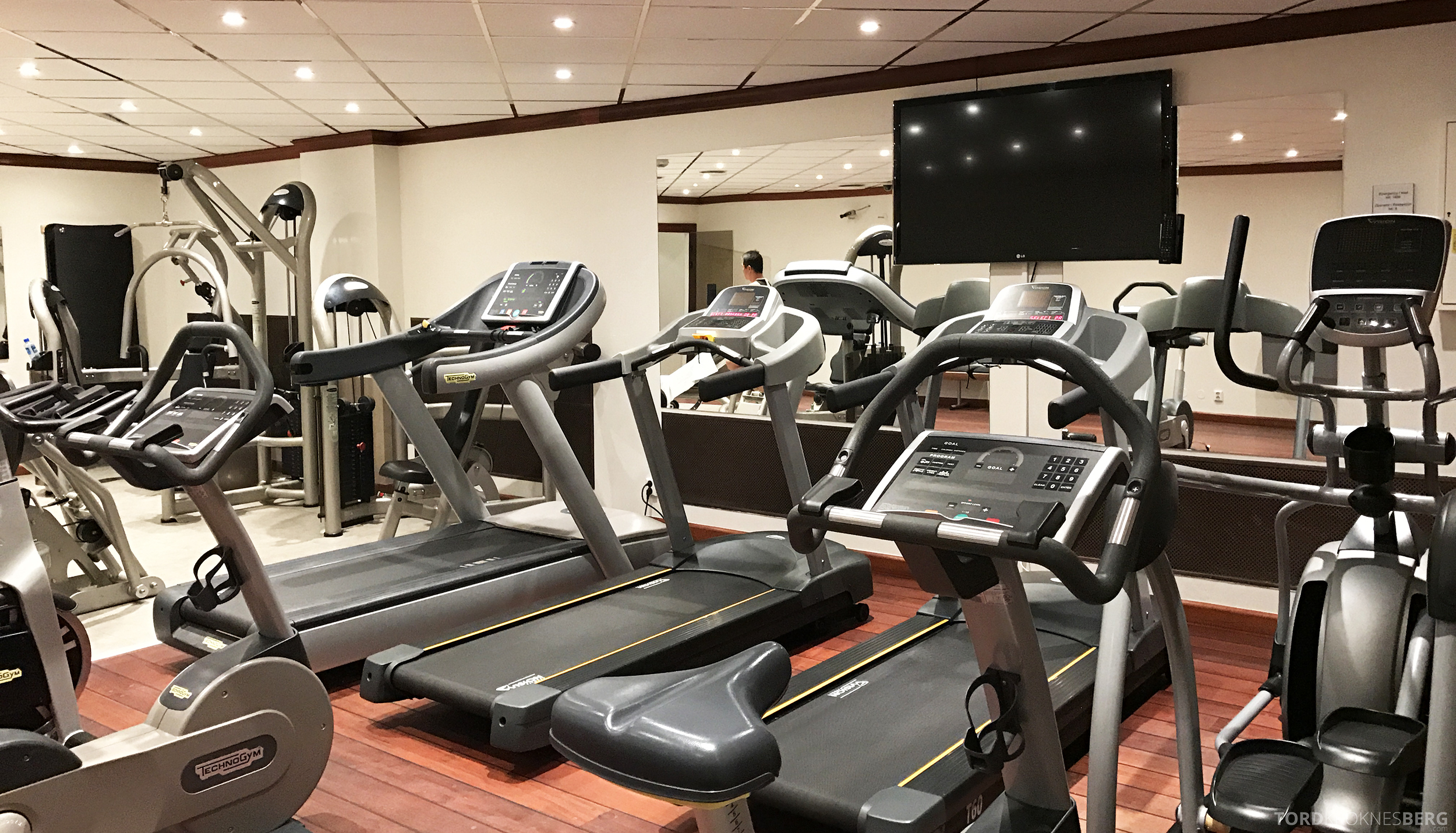 Radisson Blu Scandinavia Hotel treningsrom