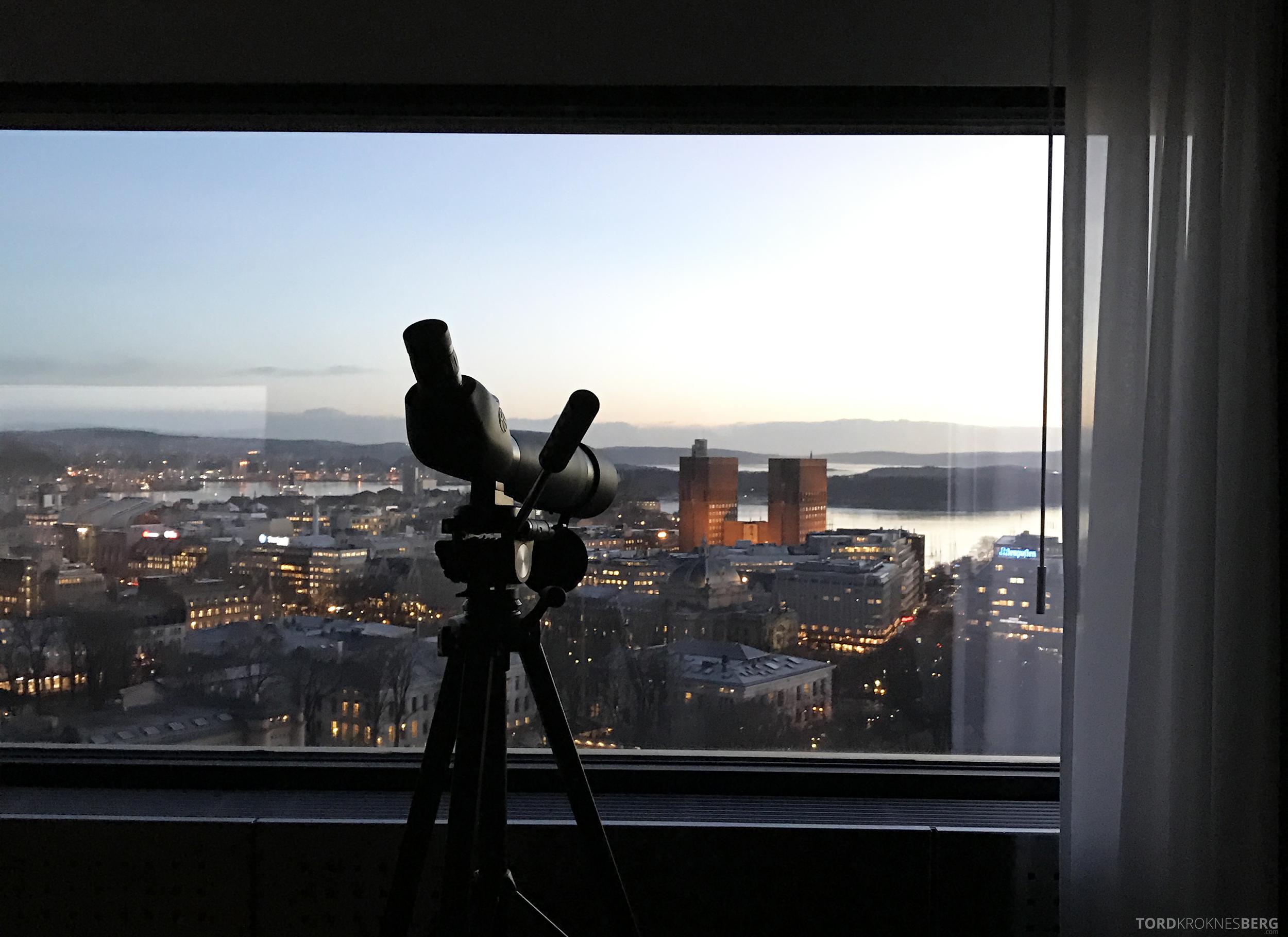 Radisson Blu Scandinavia Hotel suite stjernekikkert