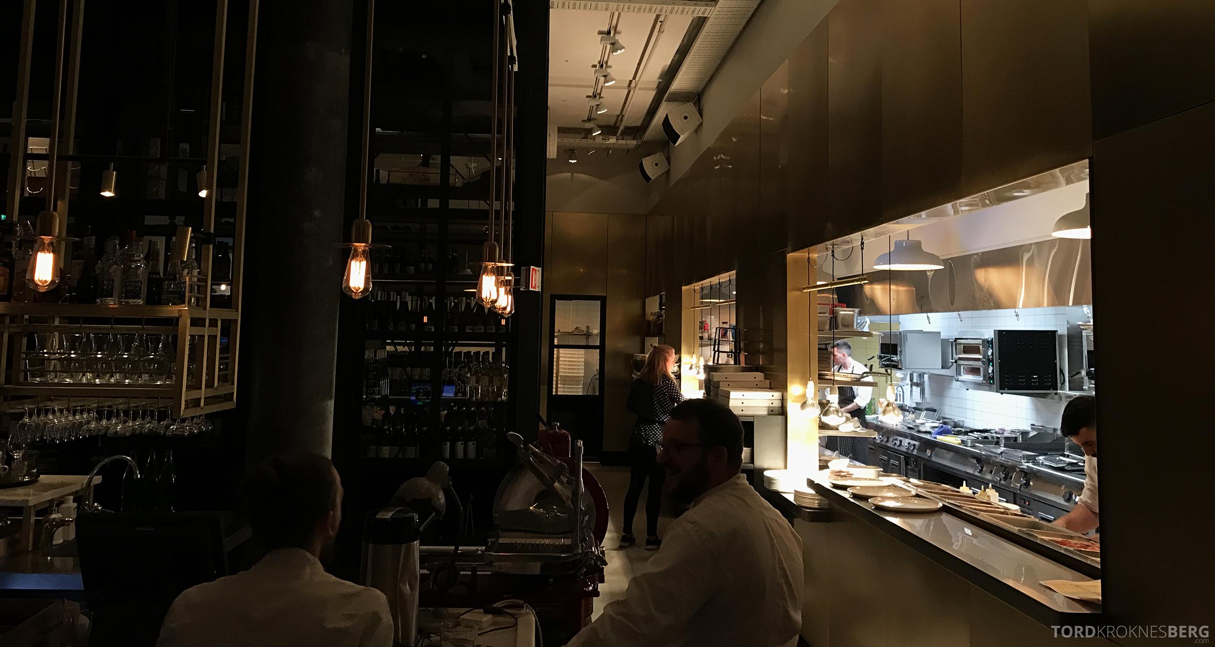 Restaurant Frati Trondheim åpent kjøkken