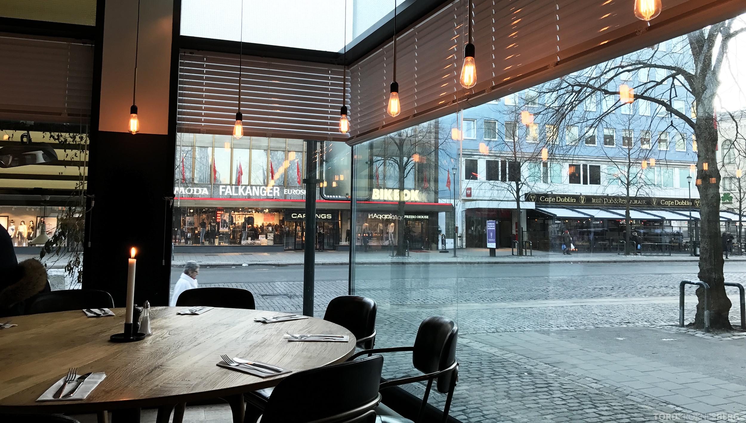 Restaurant Frati Trondheim utsikt